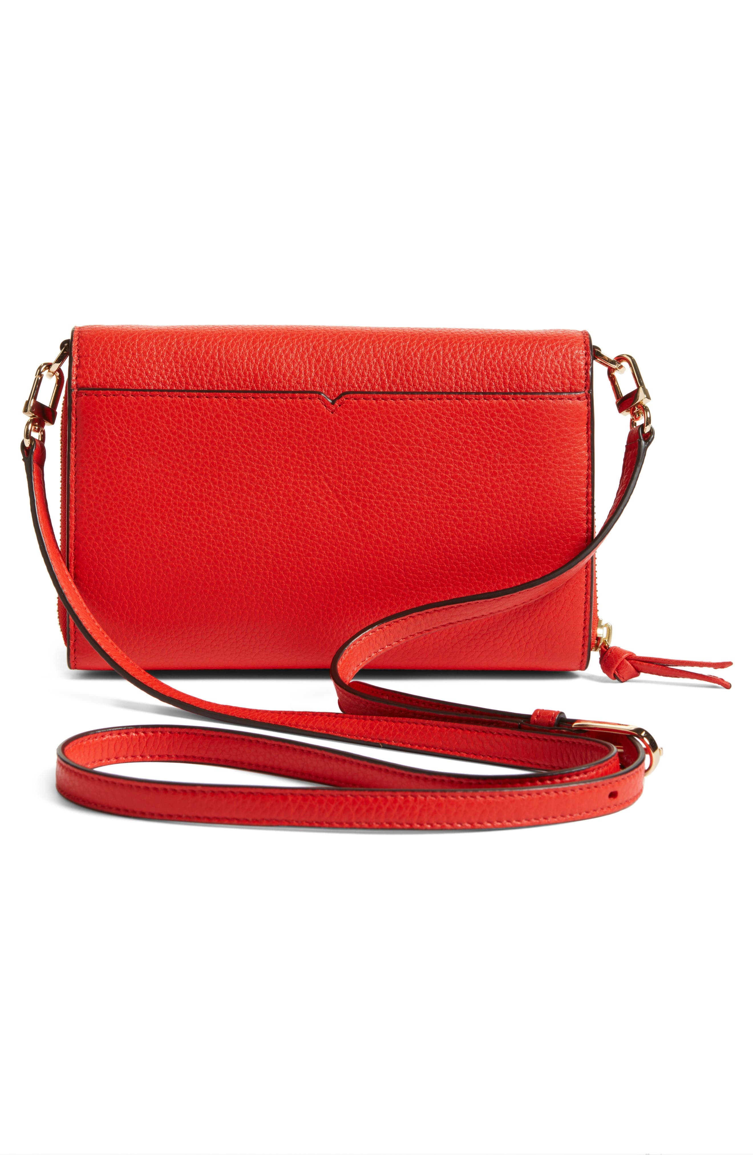 Alternate Image 2  - Tory Burch 'Harper' Pebbled Leather Wallet Crossbody Bag