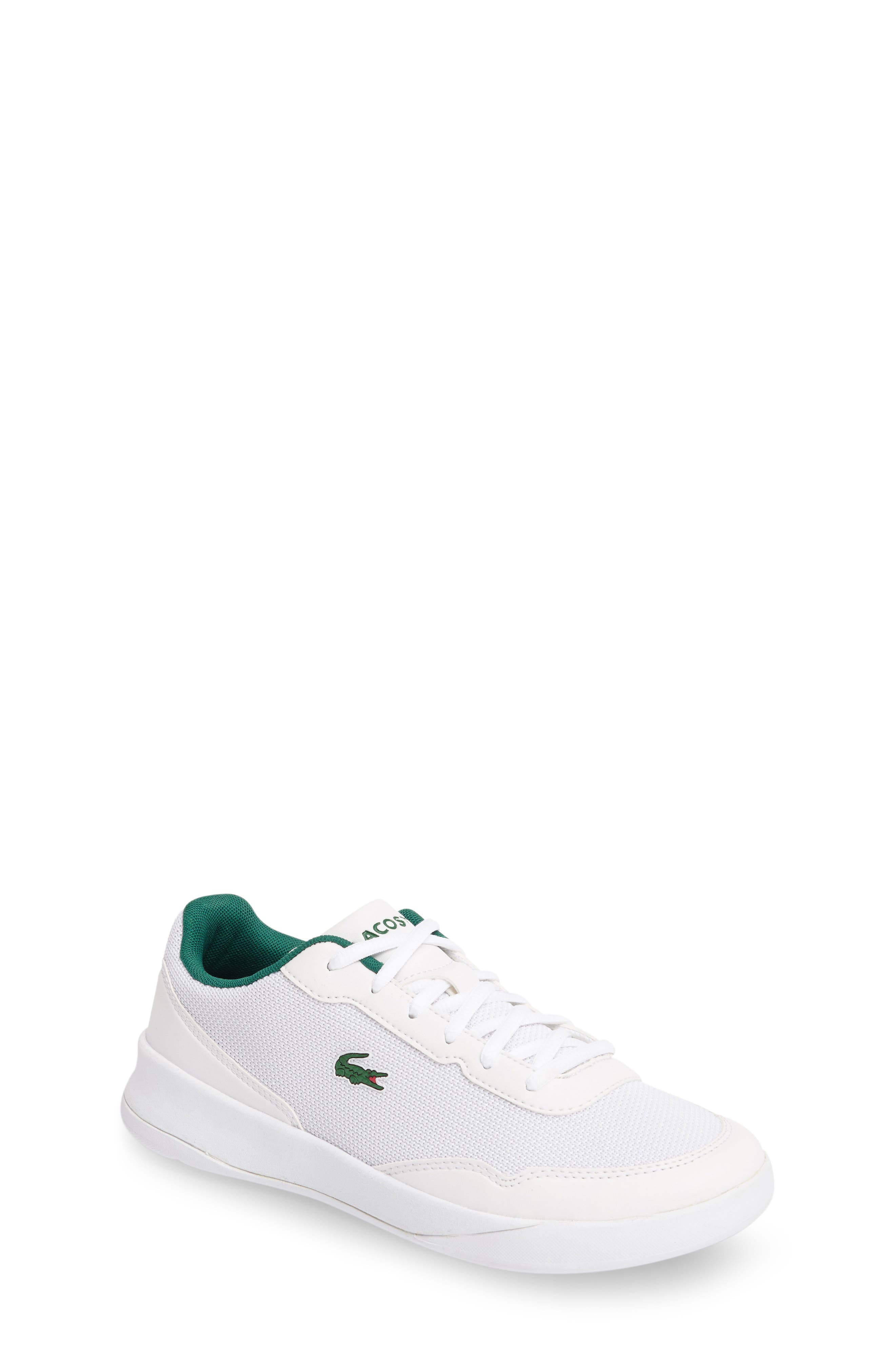 Lacoste LT Spirit Woven Sneaker (Little Kid & Big Kid)