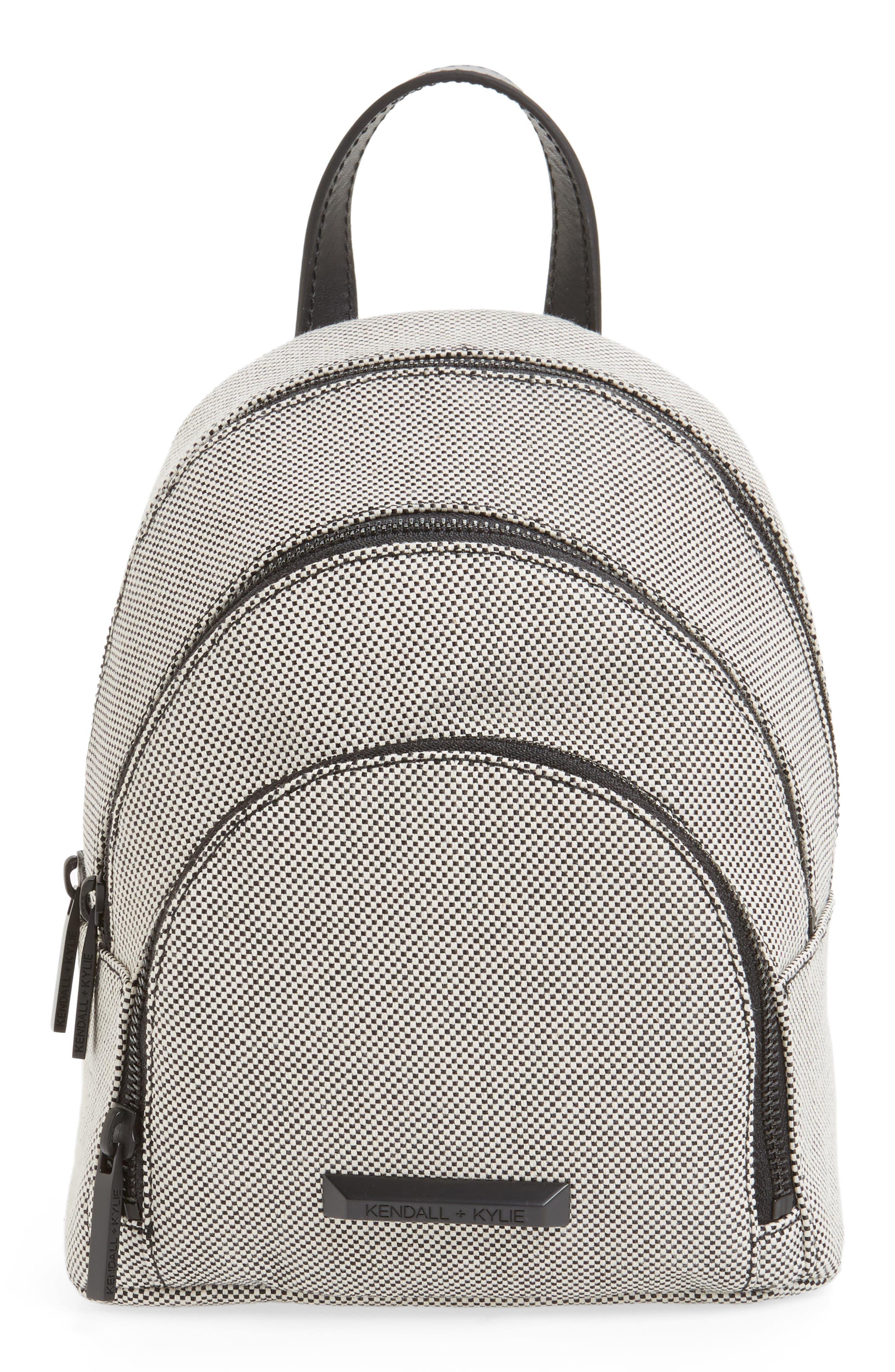 Alternate Image 1 Selected - KENDALL + KYLIE Mini Sloane Canvas Backpack