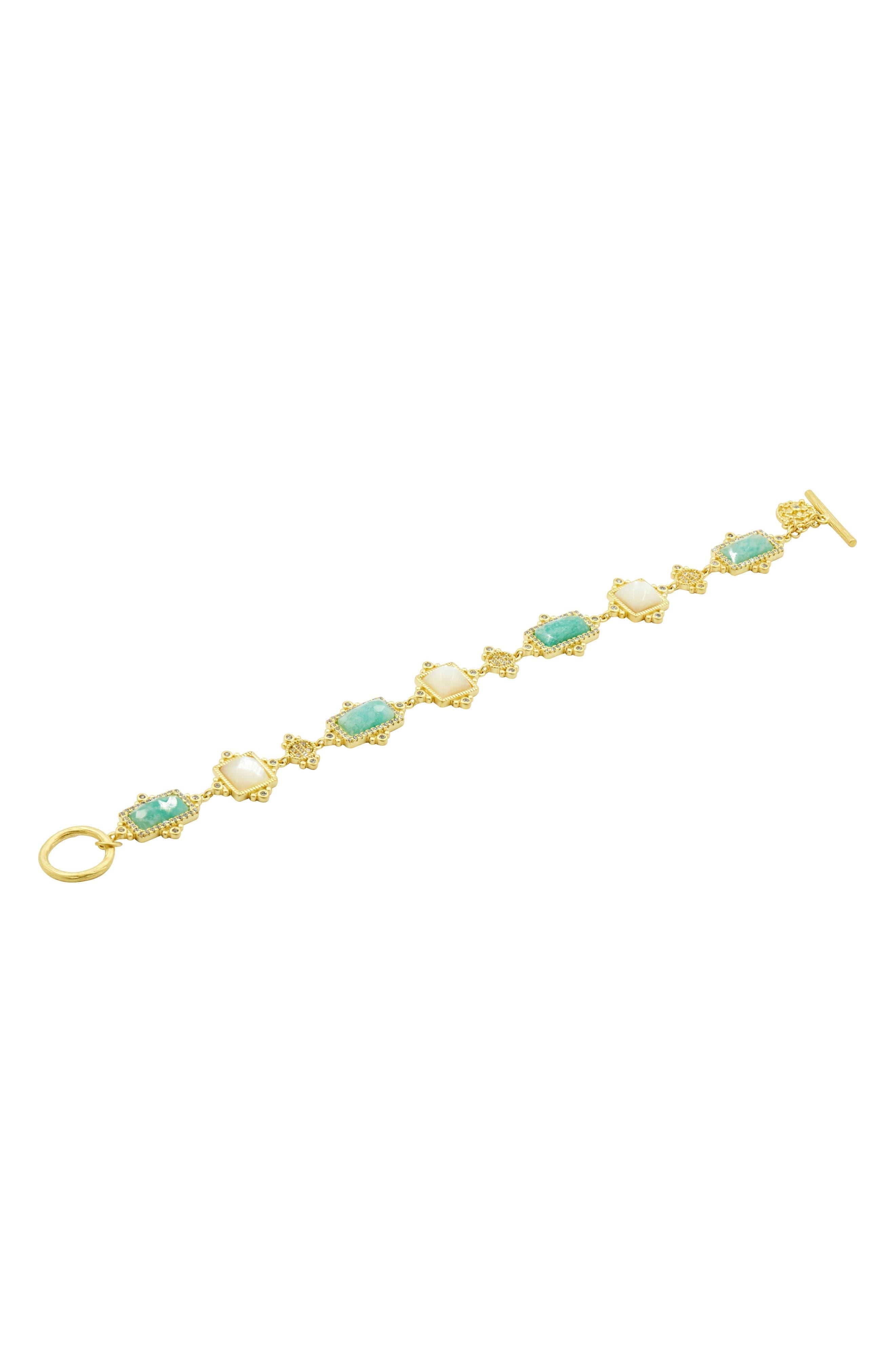 Amazonian Allure Line Bracelet,                         Main,                         color, Gold