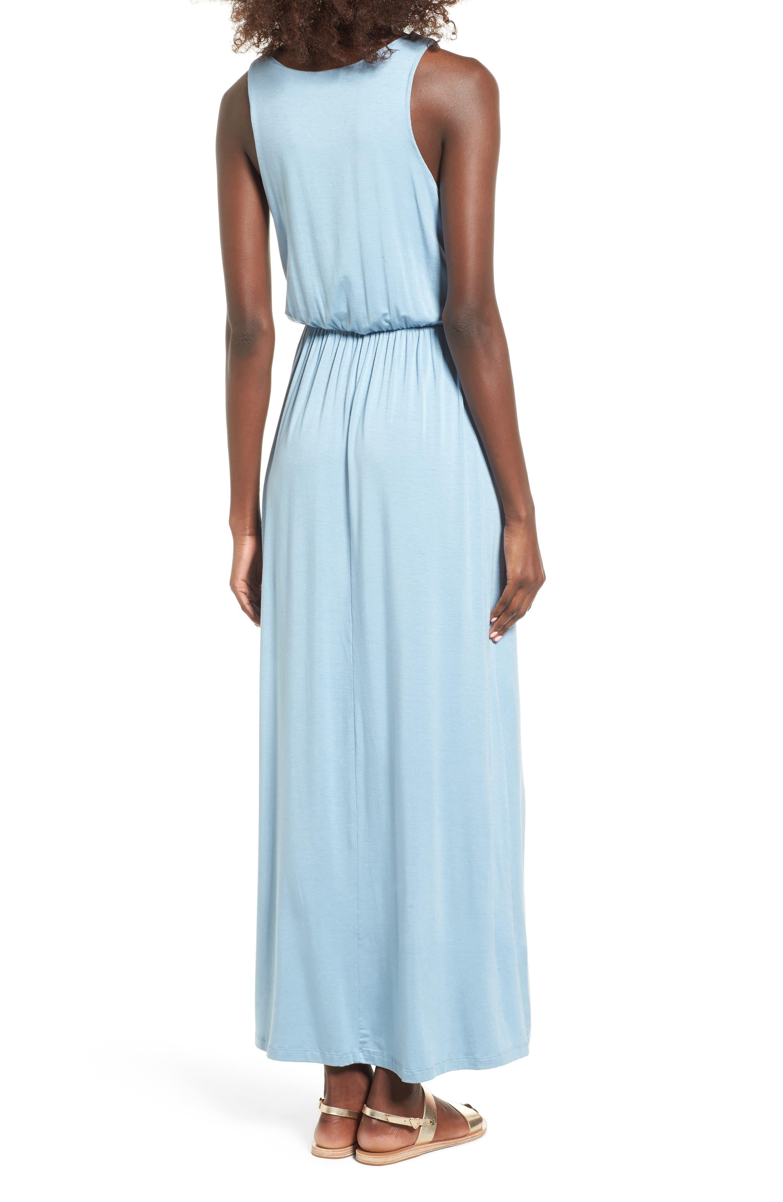 Alternate Image 2  - Lush Cross Front Maxi Dress