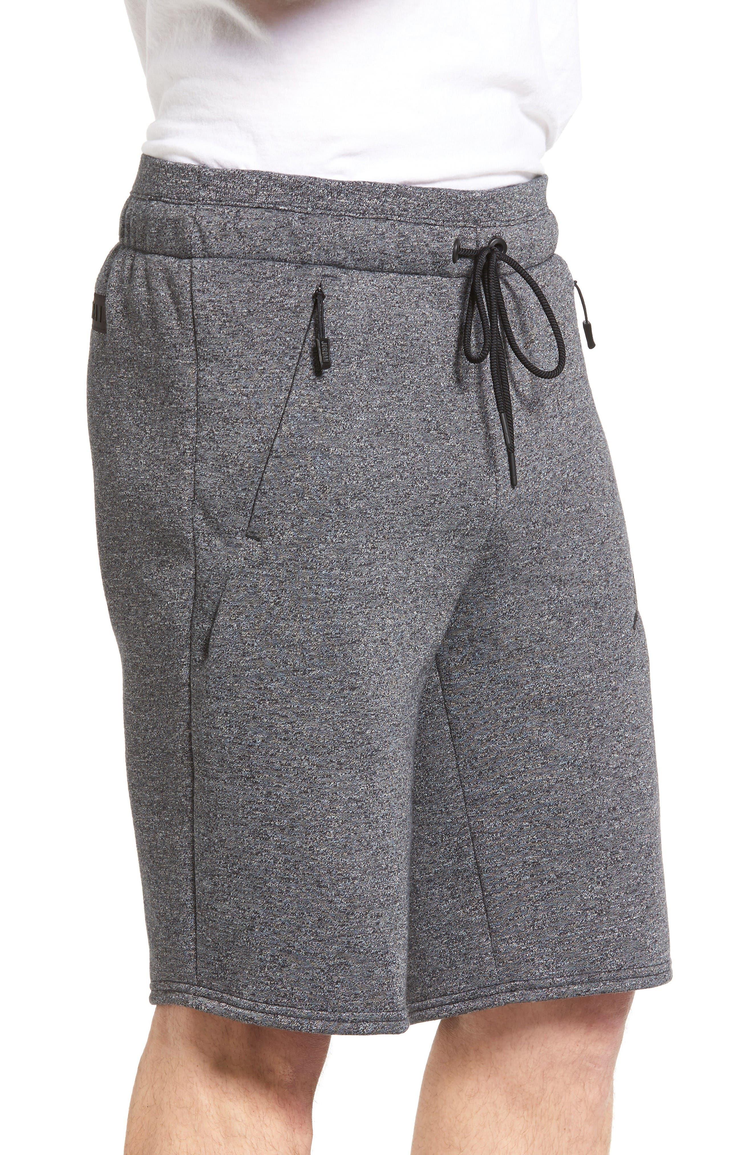Alternate Image 3  - Nike Jordan Icon Fleece Shorts