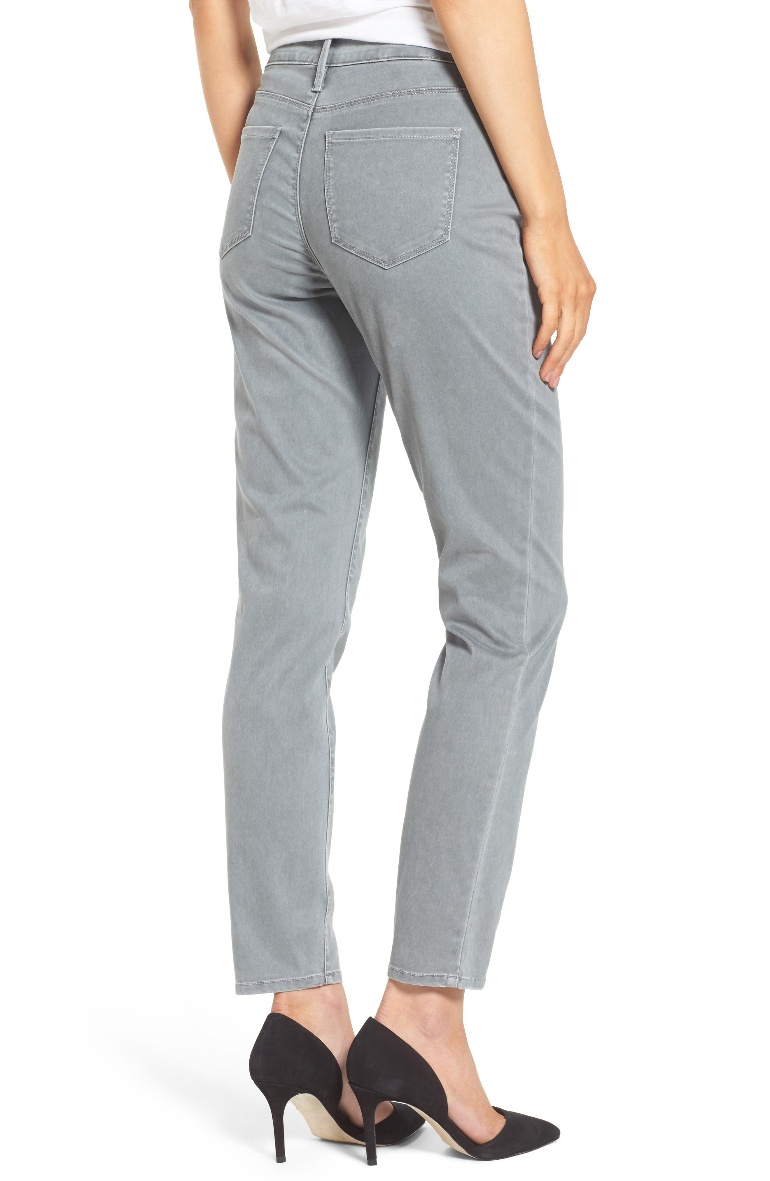 Alternate Image 2  - NYDJ Zip Pocket Skinny Chinos