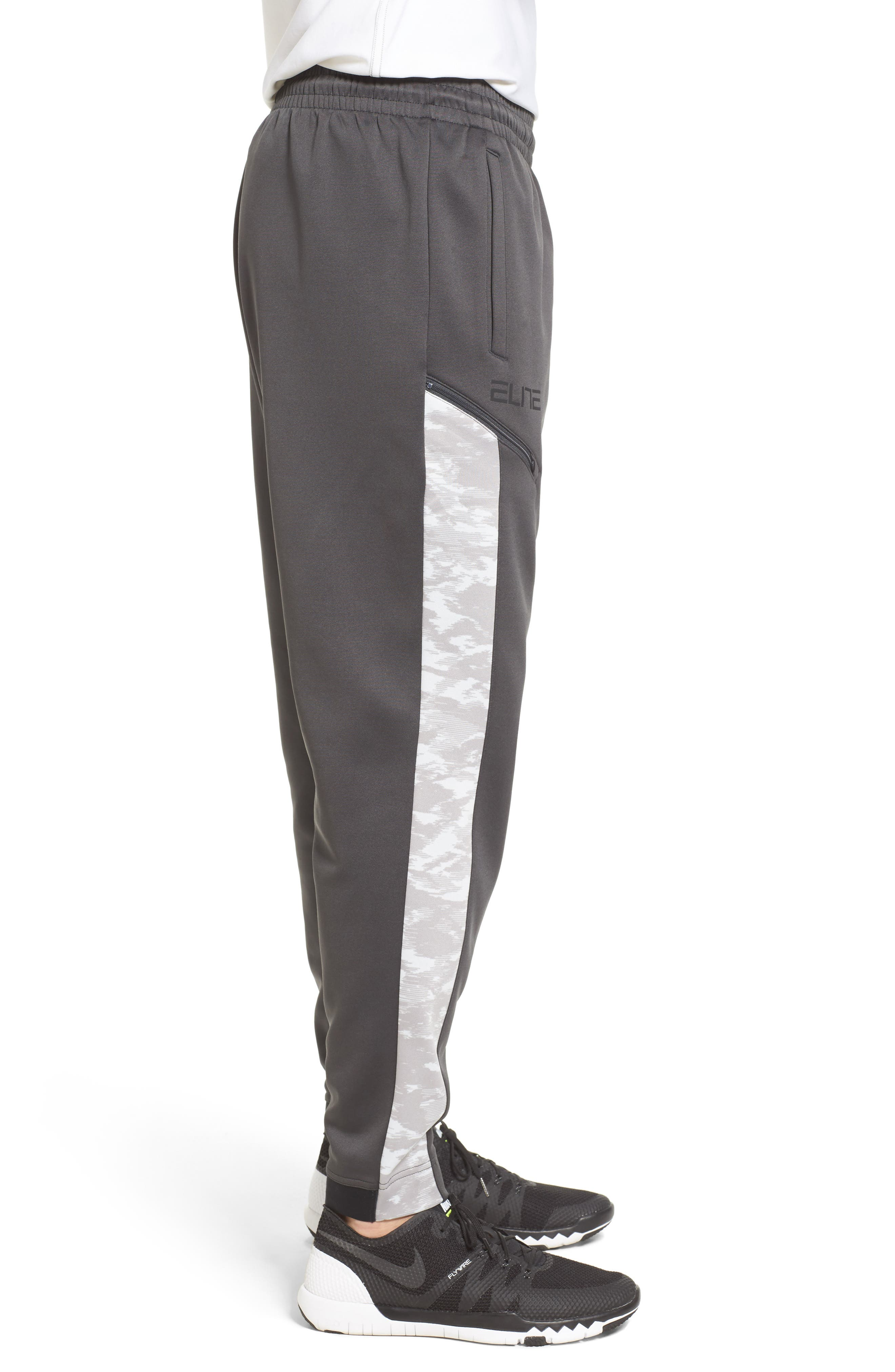 Alternate Image 4  - Nike Therma Elite Basketball Pants