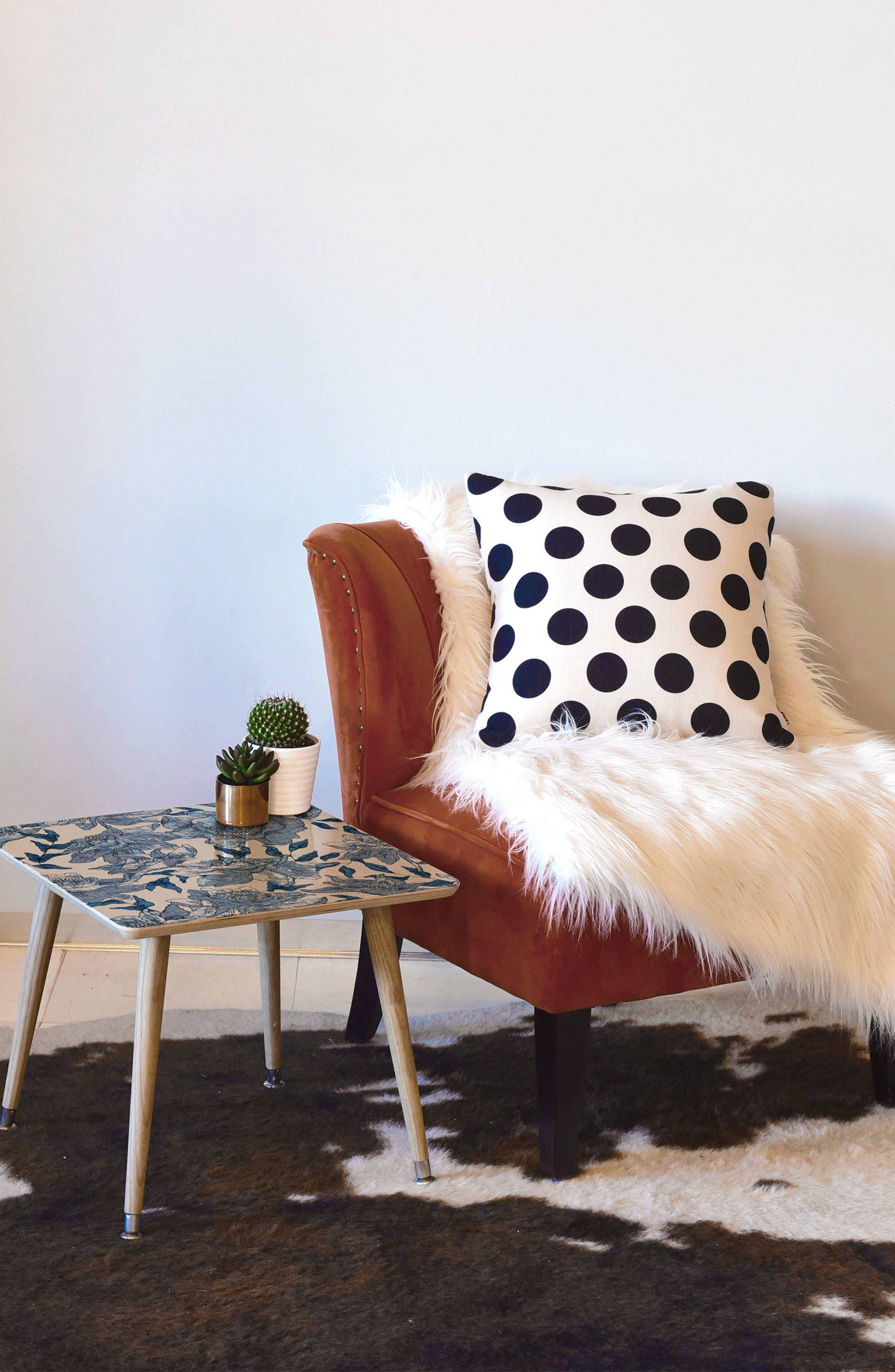 Alternate Image 2  - Deny Designs Summertime Indigo Side Table