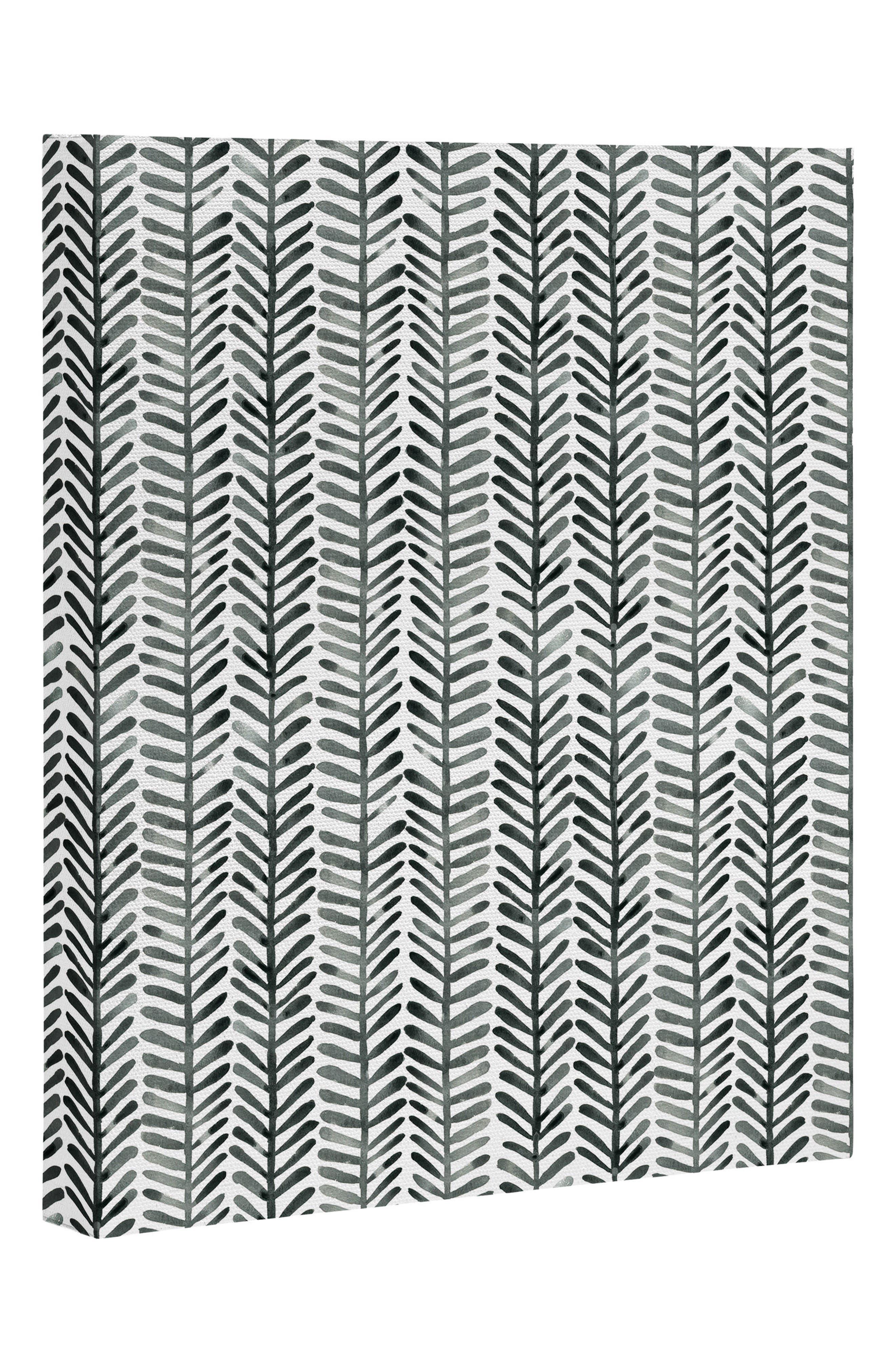 Alternate Image 1 Selected - Deny Designs Herring Canvas Print