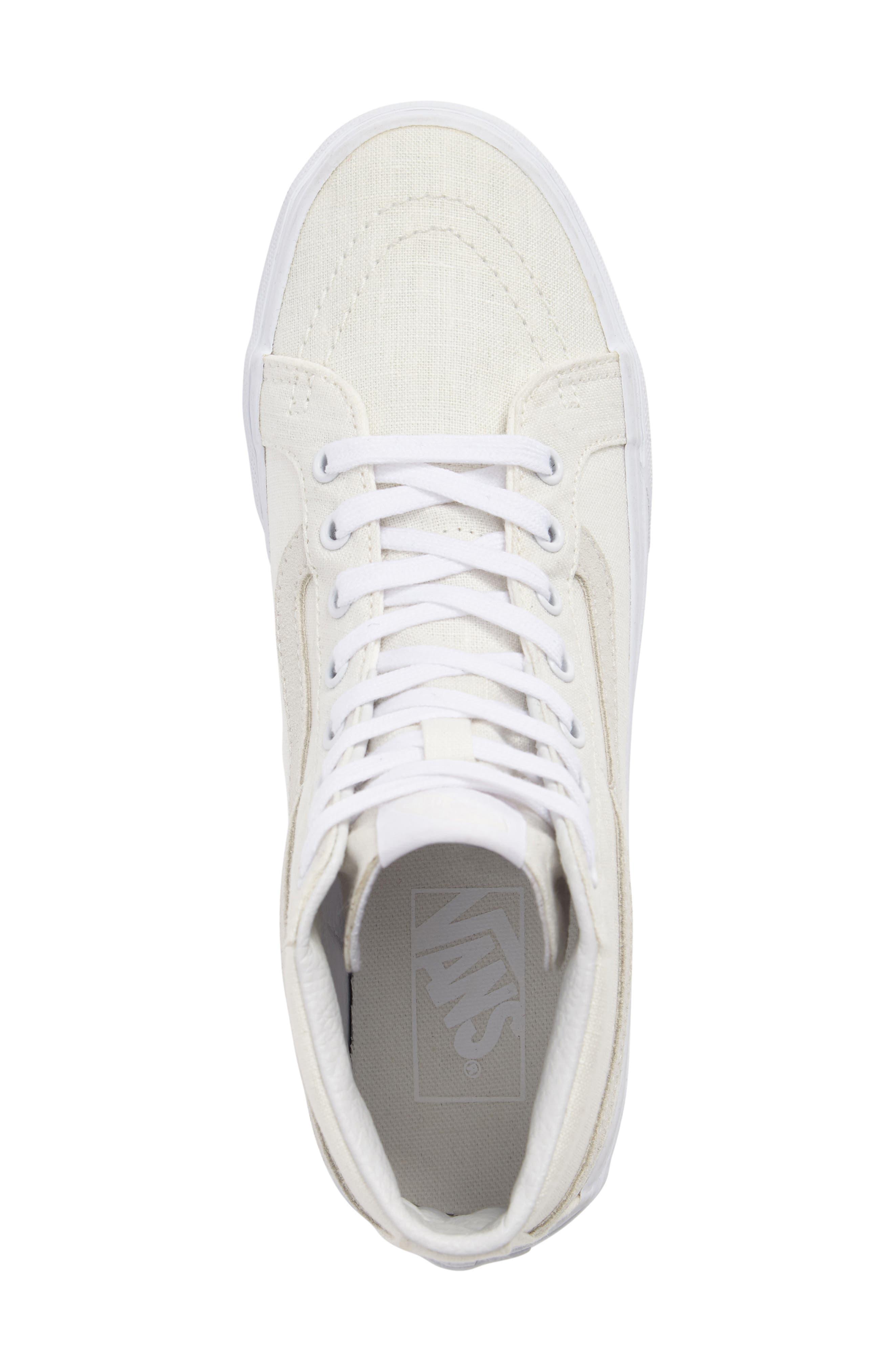 Alternate Image 5  - Vans Sk8-Hi Slim Sneaker (Women)