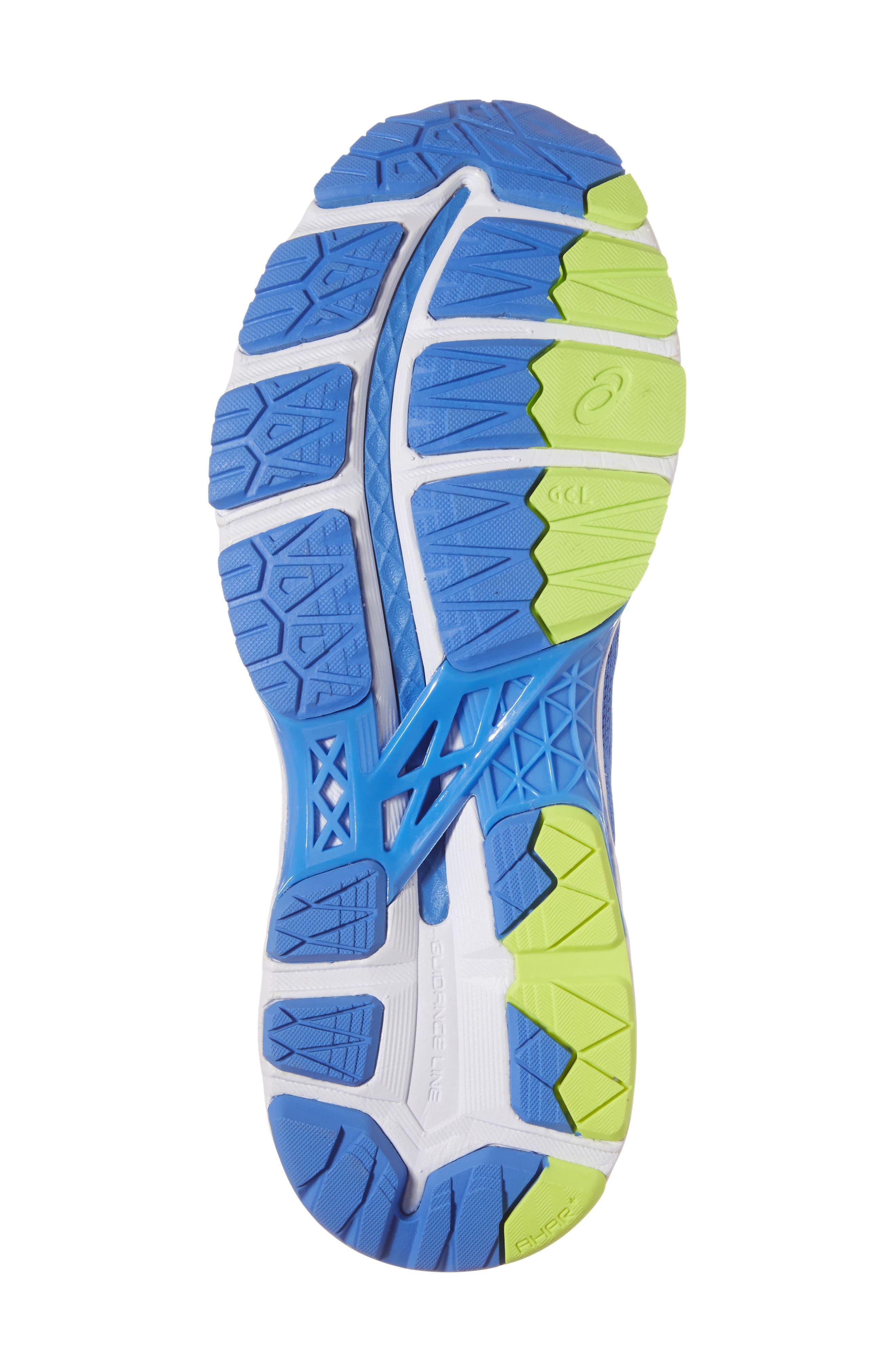 GEL-Kayano<sup>®</sup> 24 Running Shoe,                             Alternate thumbnail 6, color,                             Blue Purple/ Regatta/ White