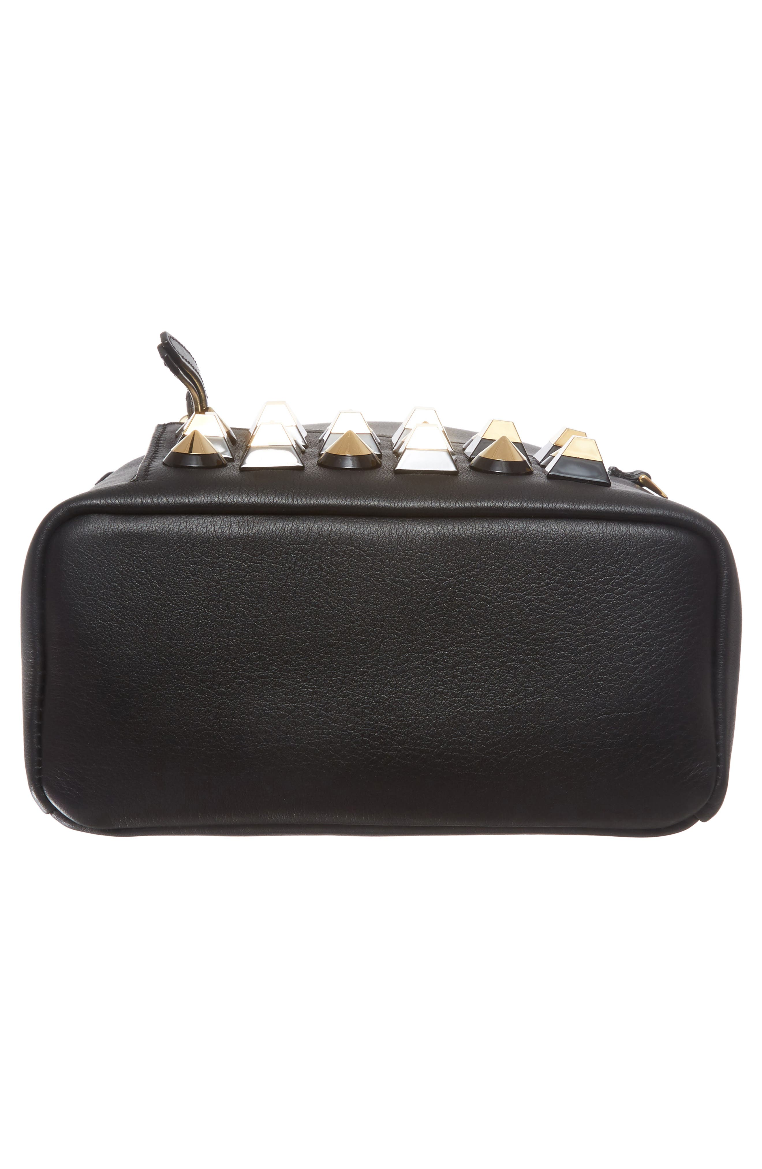 Alternate Image 6  - Fendi Mini Studded Leather Backpack