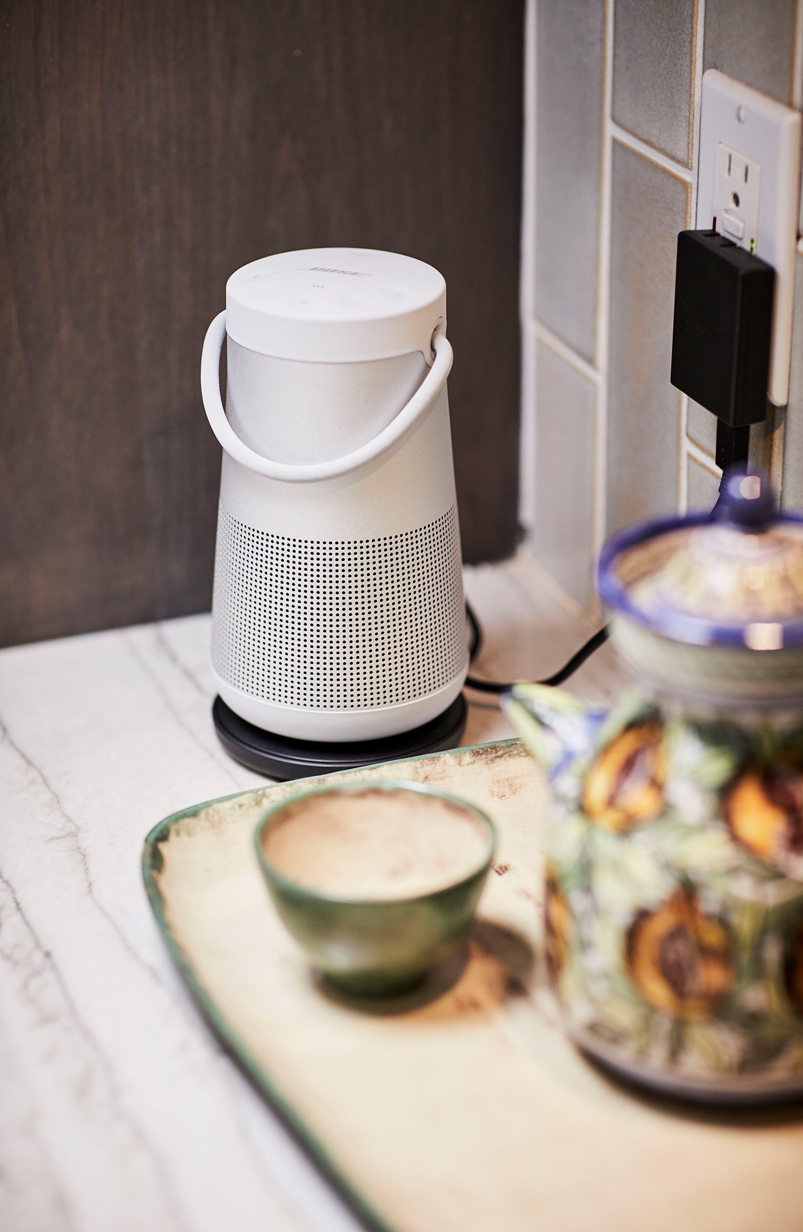 SoundLink<sup>®</sup> Revolve+ Bluetooth<sup>®</sup> Speaker,                             Alternate thumbnail 10, color,                             Silver