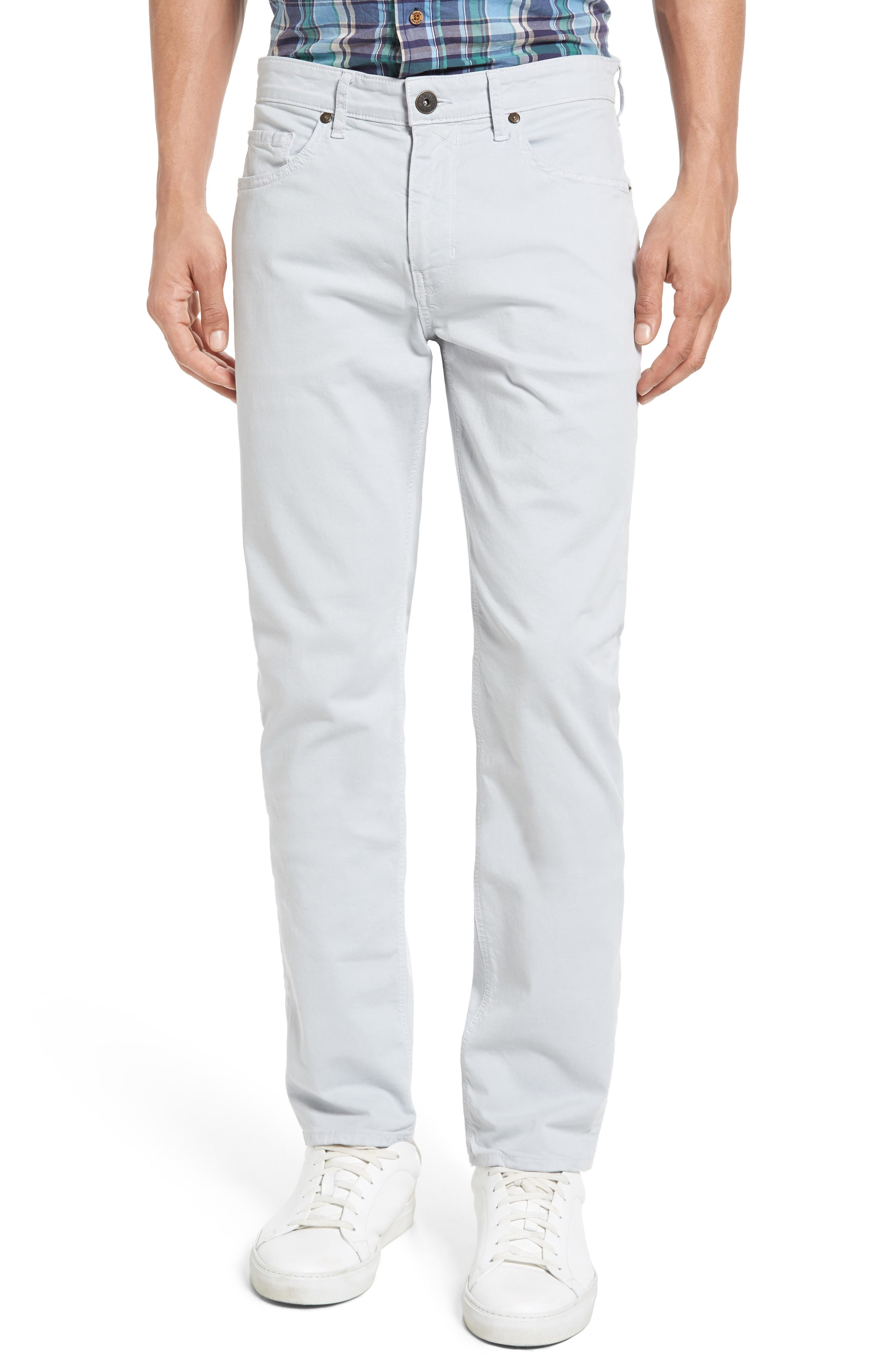 Main Image - Paige Lennox Skinny Fit Jeans (Blue Spring)