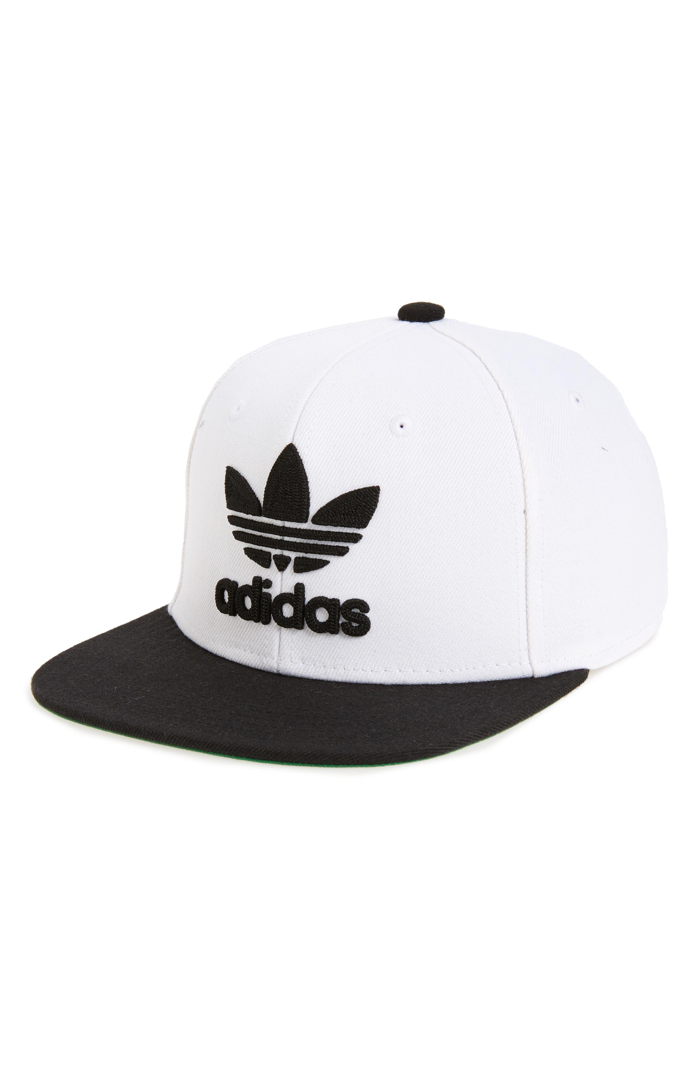 40881a59cbc65 ... discount code for adidas originals mens originals trefoil chain  snapback hat white e15d2 f677a