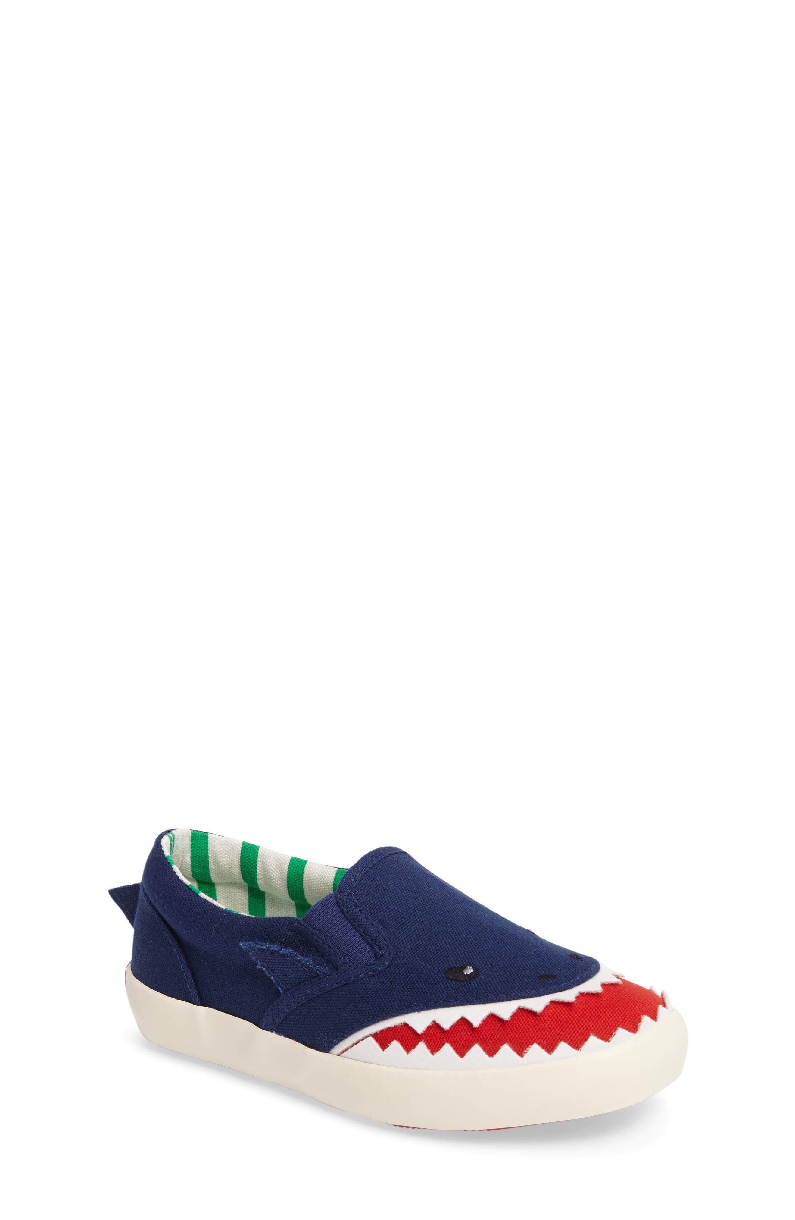 Alternate Image 1 Selected - Mini Boden Slip-On Sneaker (Toddler, Little Kid & Big Kid)