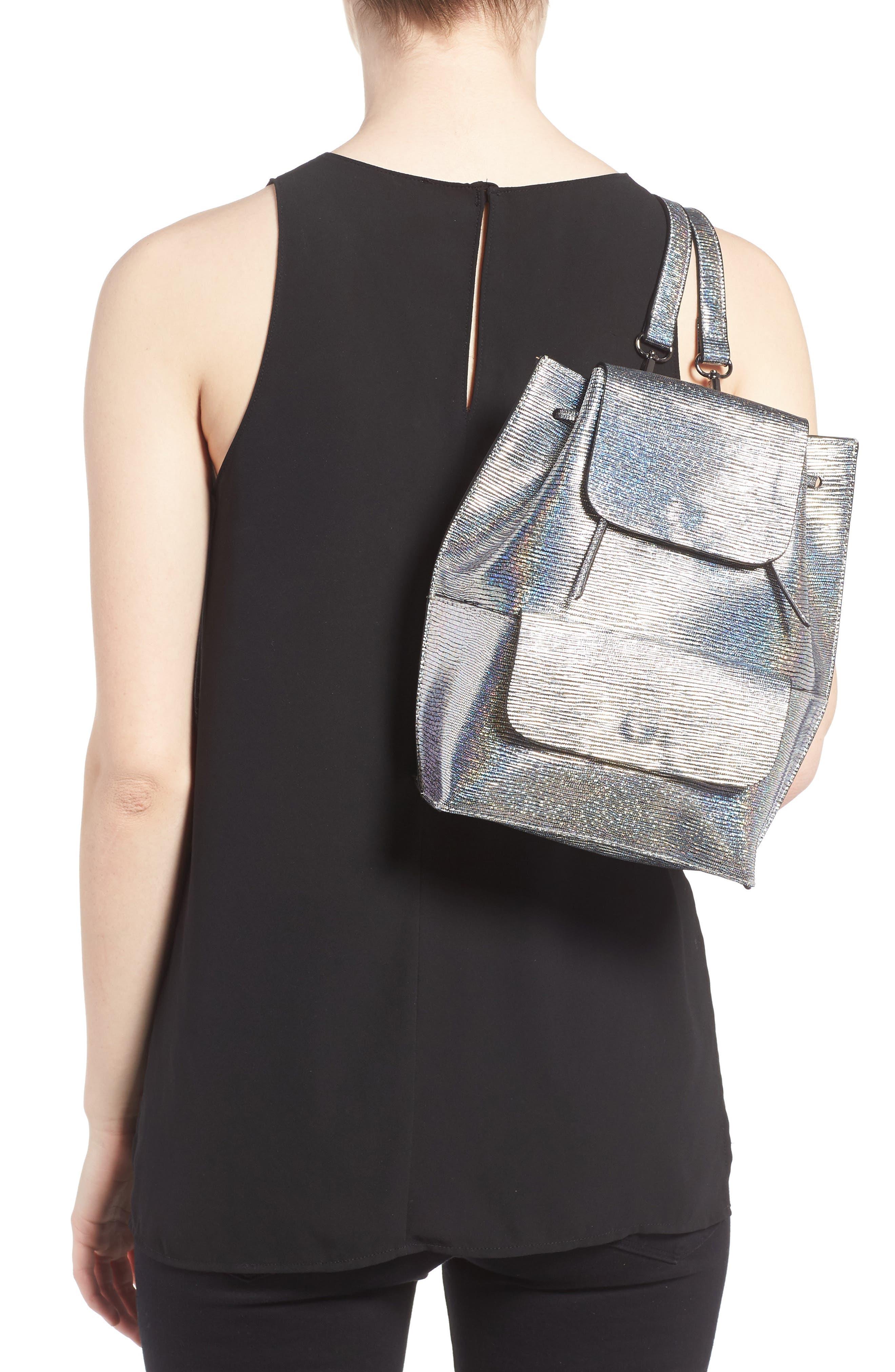 Alternate Image 2  - Street Level Flap Pocket Backpack