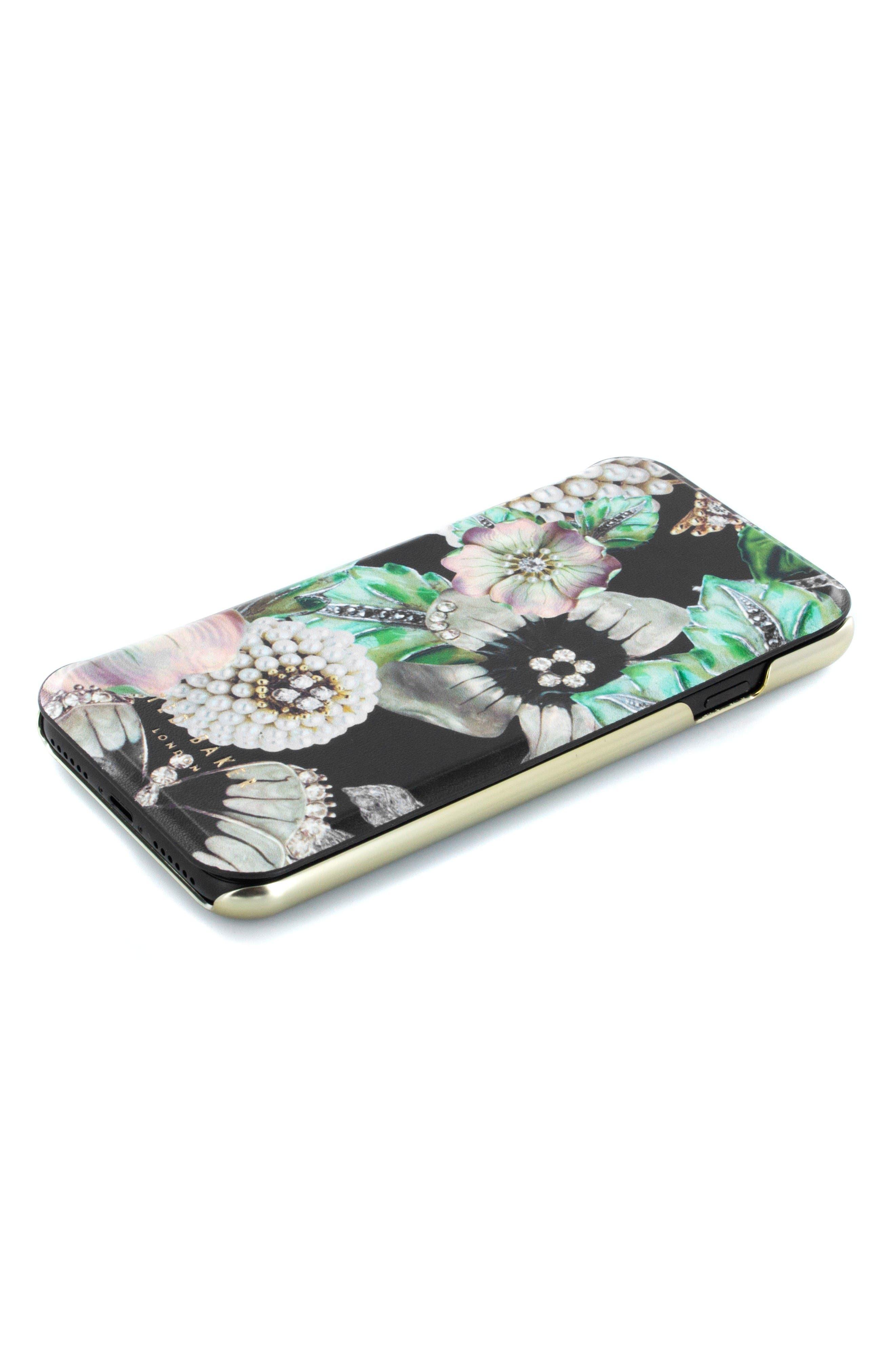 Clarna iPhone 6/6s/7/8 & 6/6s/7/8 Plus Mirror Folio Case,                             Alternate thumbnail 2, color,                             Multi