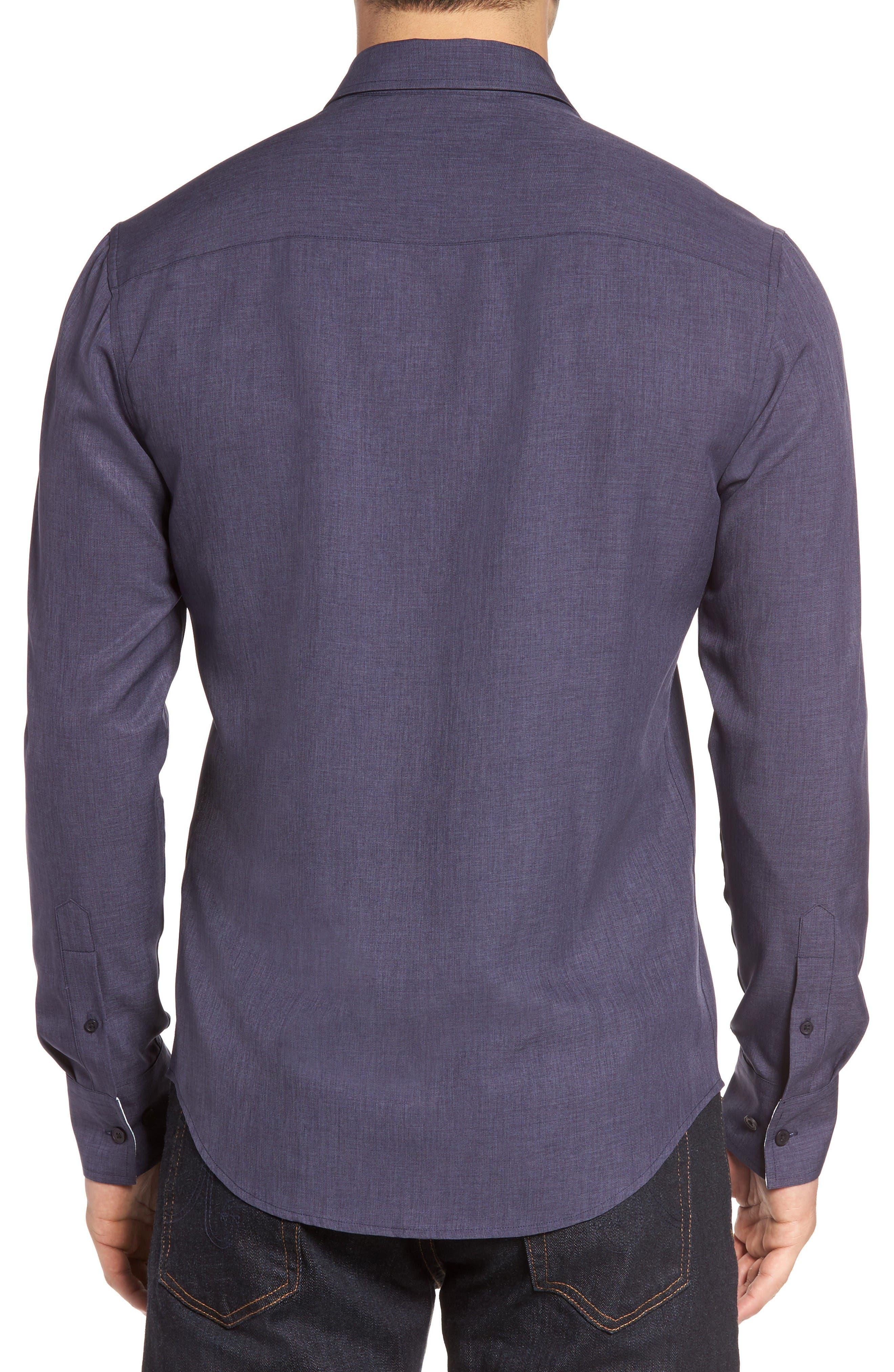 Alternate Image 2  - Vince Camuto Trim Fit Sport Shirt