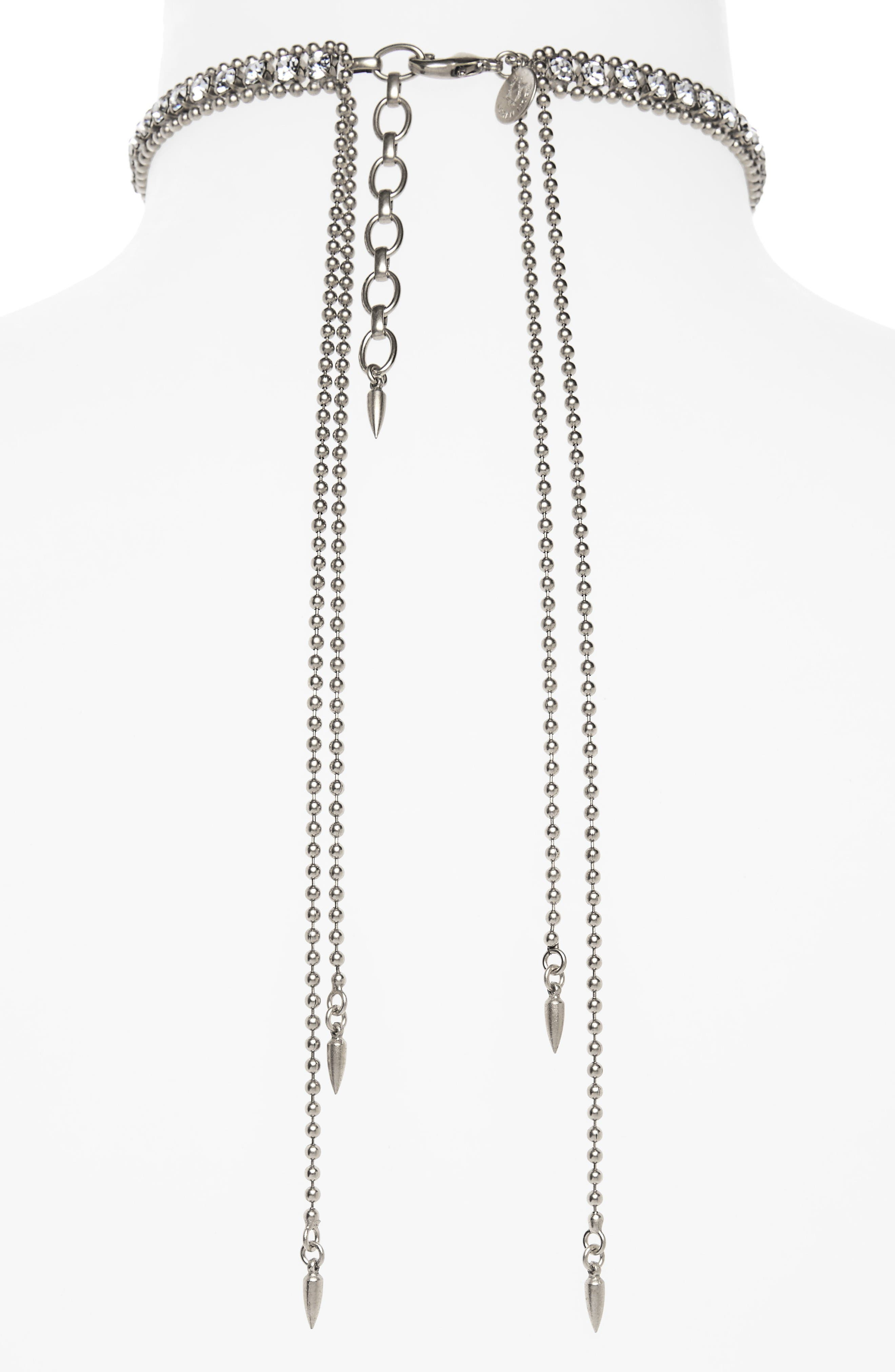 Alternate Image 2  - Loren Hope Crystal Choker Necklace