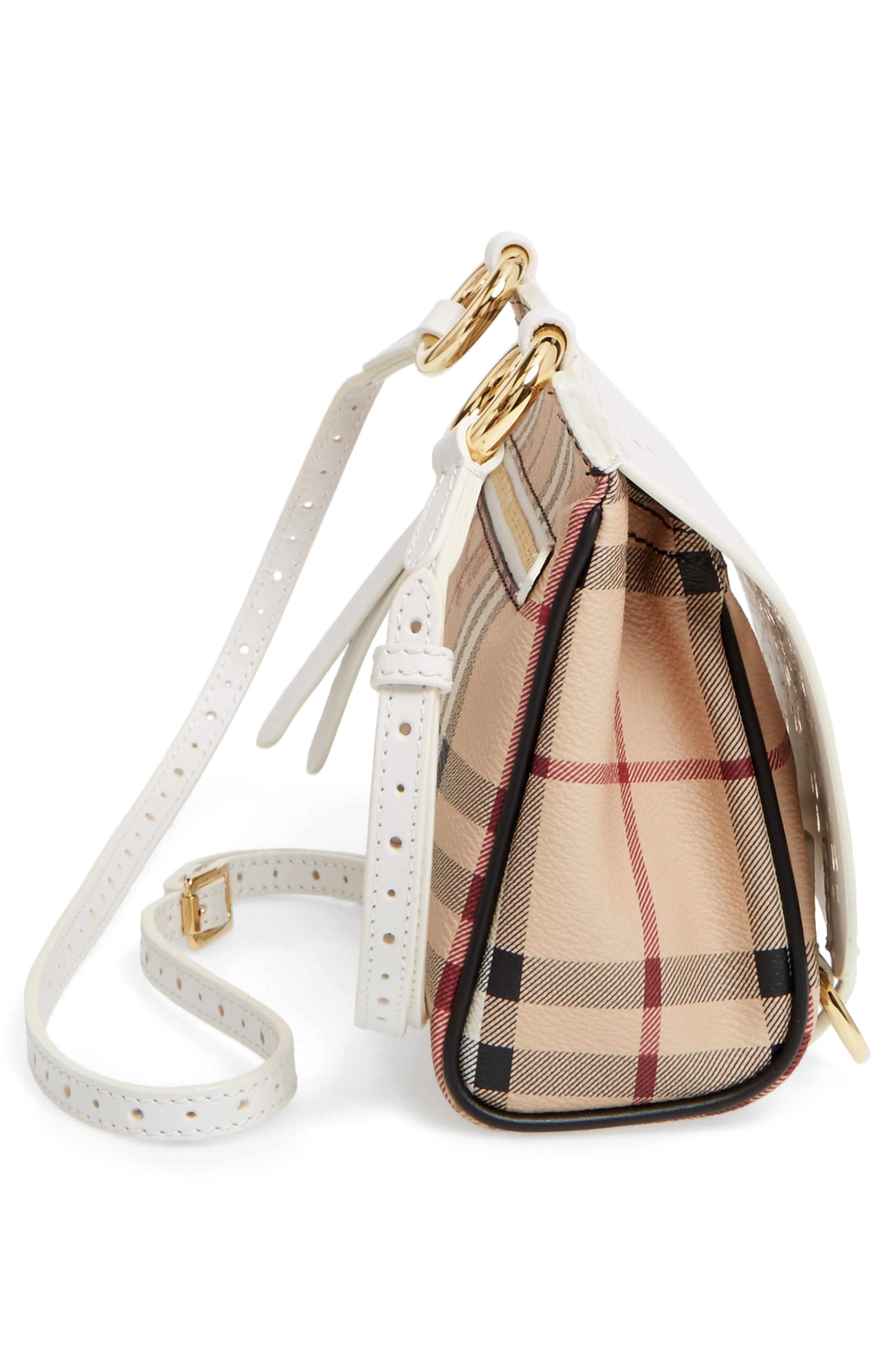 Alternate Image 5  - Burberry Baby Bridle Crossbody Bag