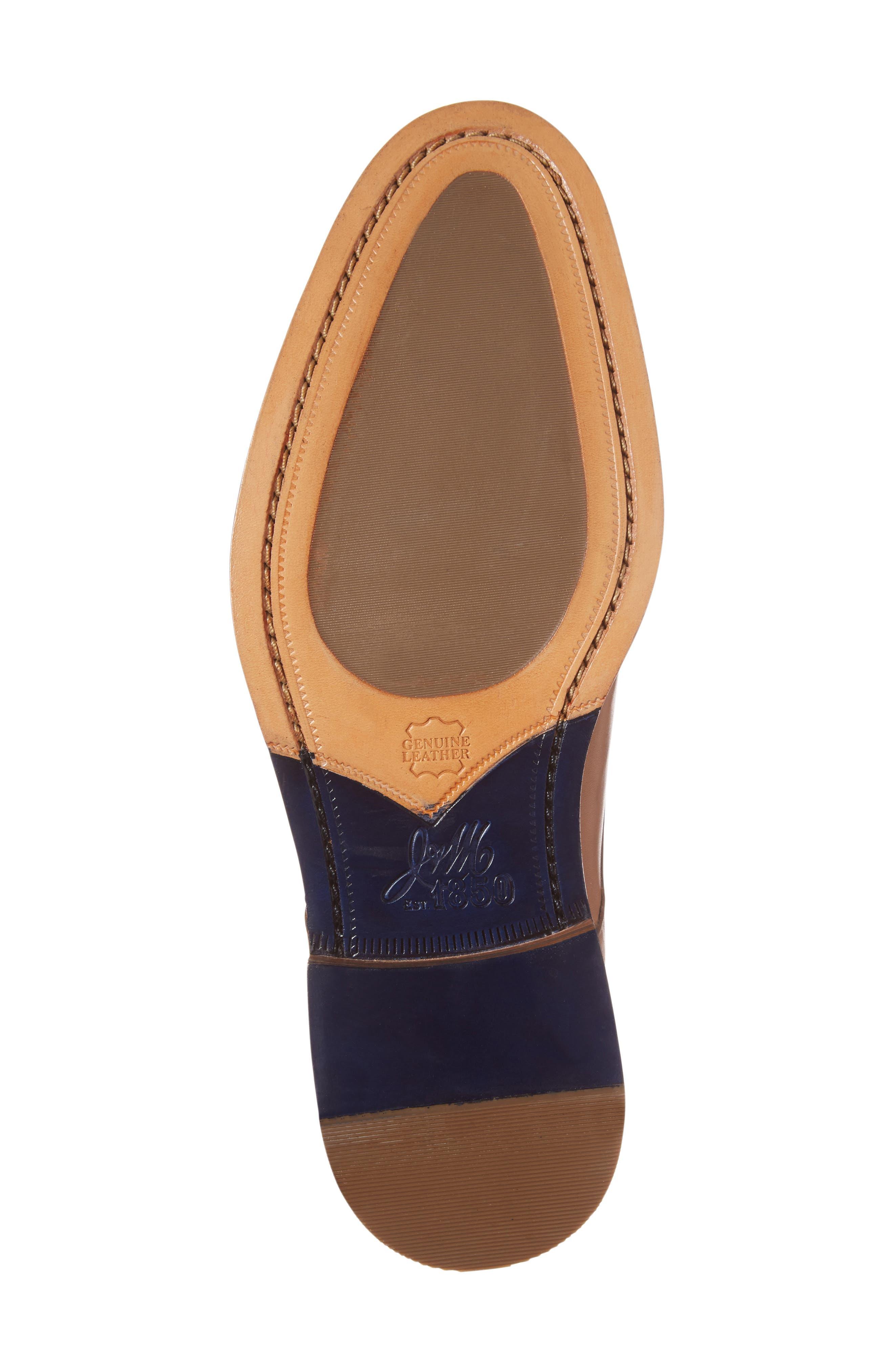 Chambliss Plain Toe Derby,                             Alternate thumbnail 6, color,                             Tan Calfskin