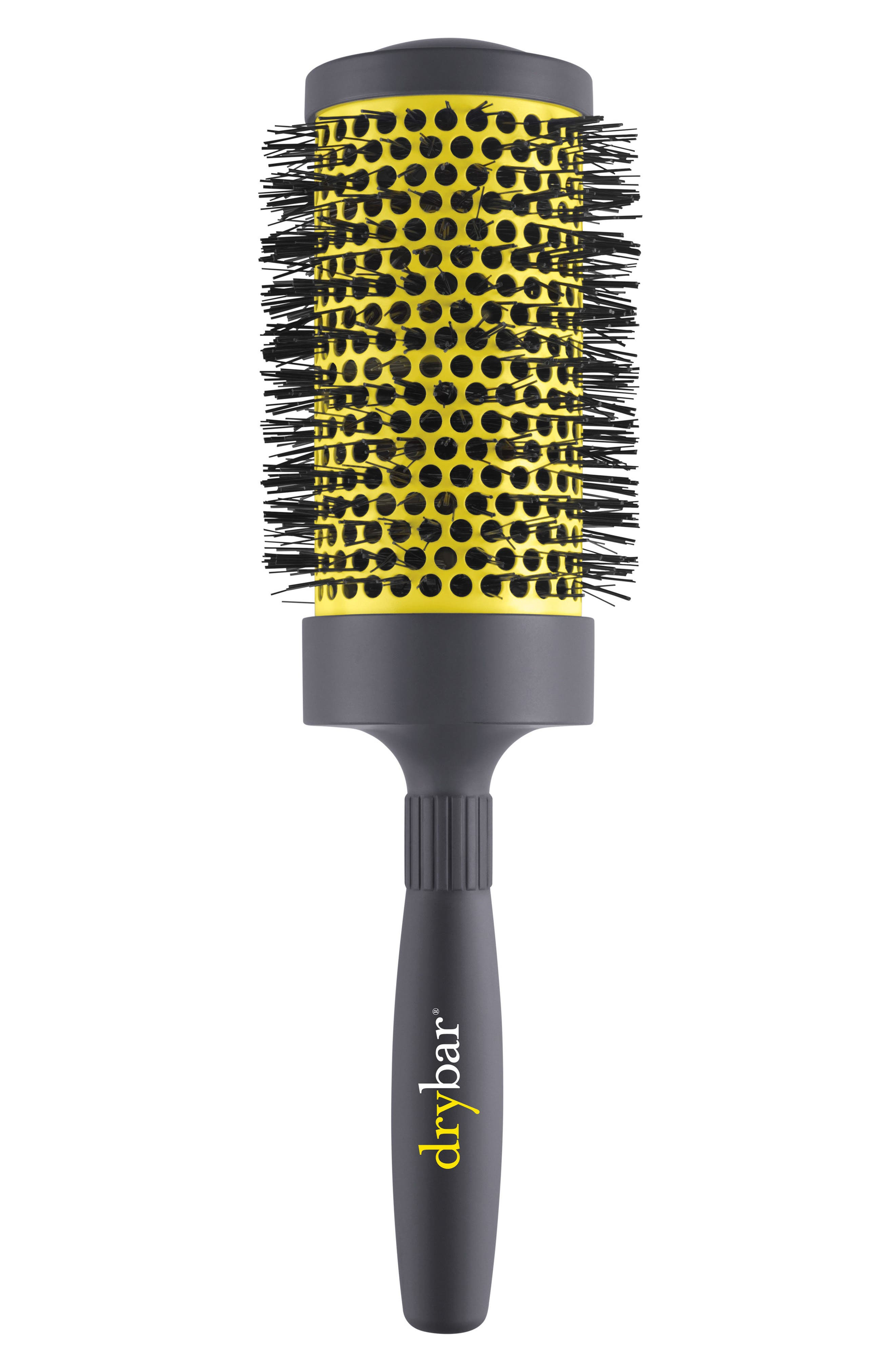 Double Pint Large Round Ceramic Brush,                             Main thumbnail 1, color,                             No Color