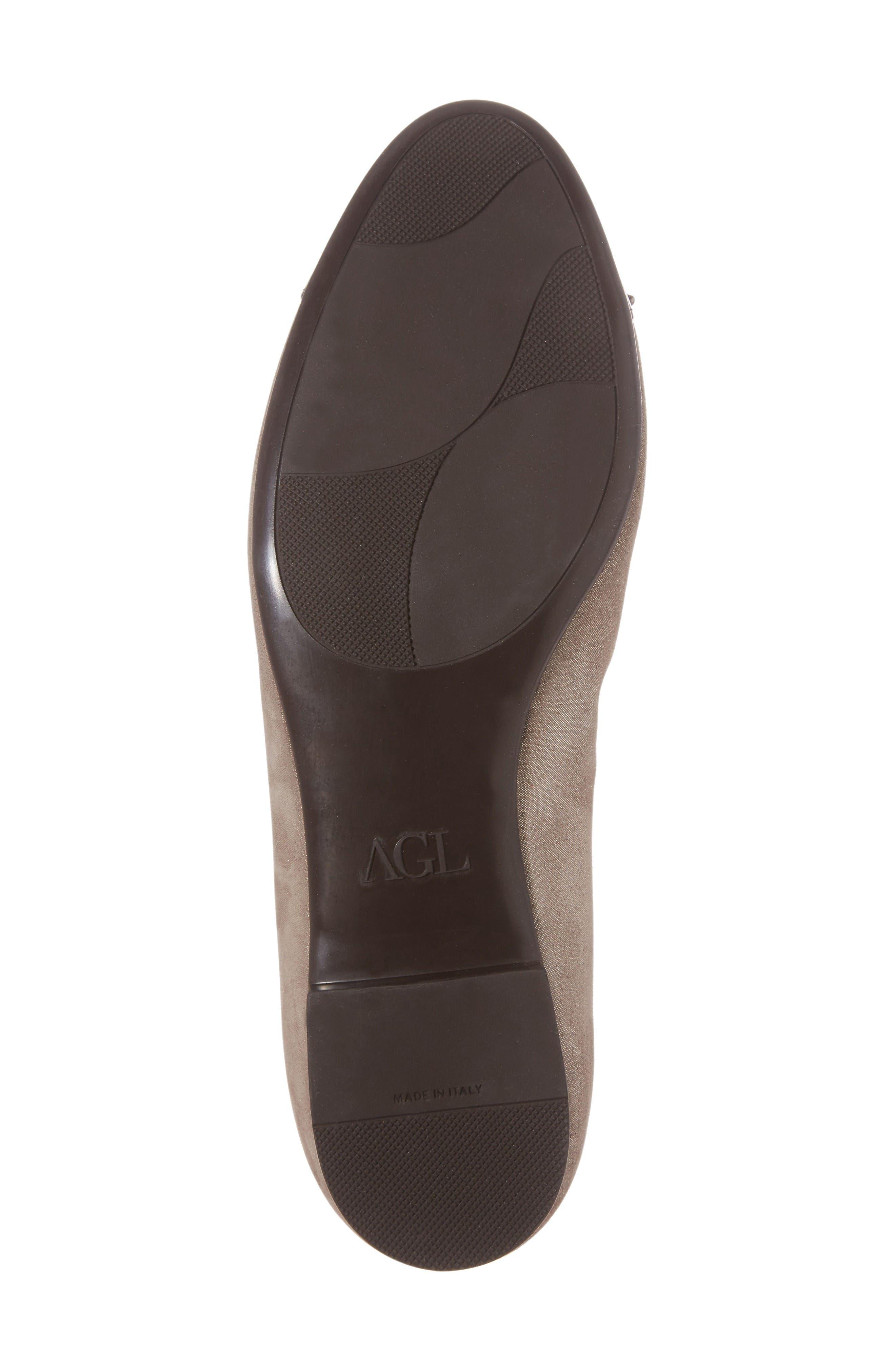 Alternate Image 6  - AGL Cap Toe Flat (Women)