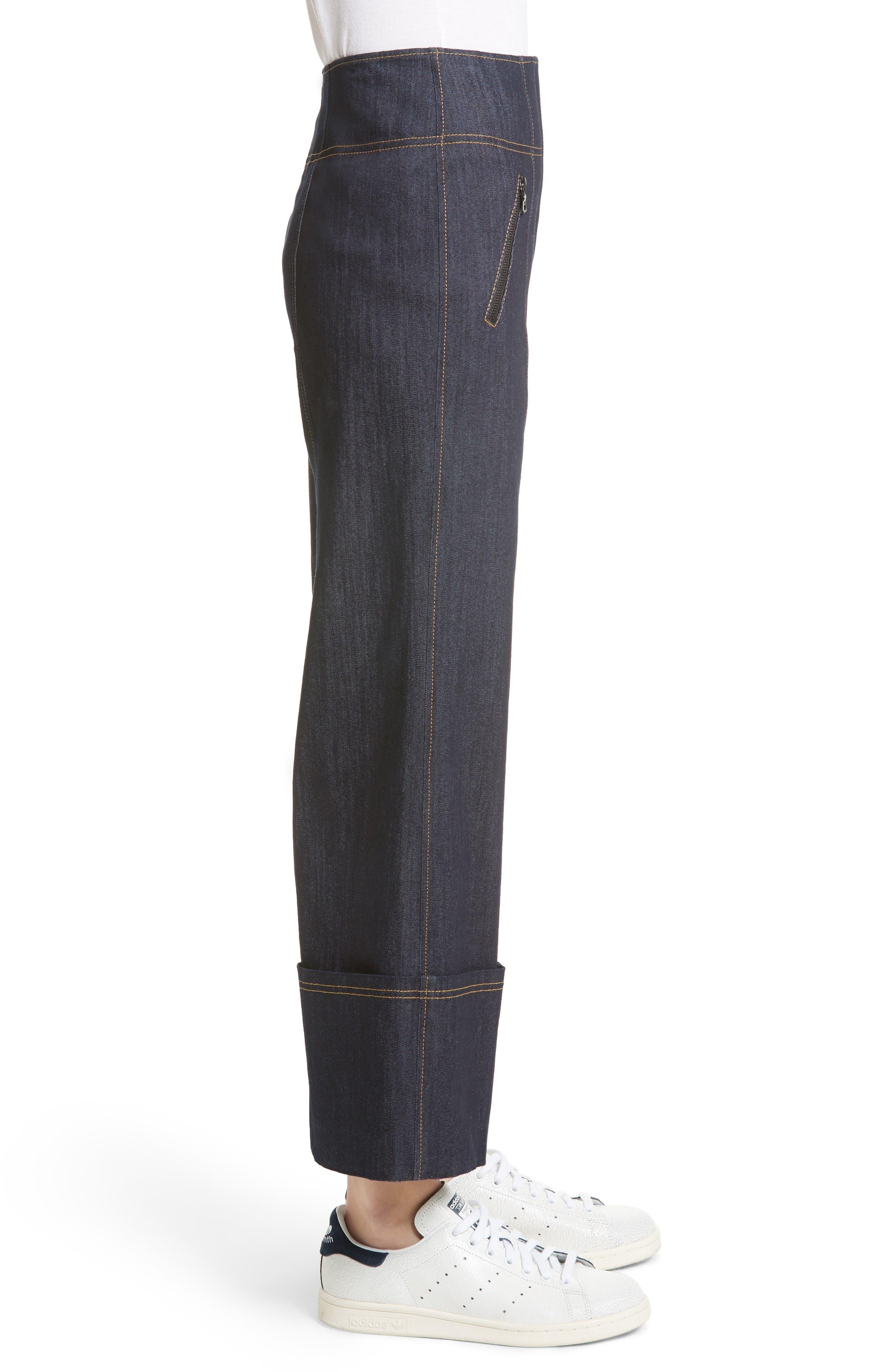 Alternate Image 4  - Cinq à Sept Marla Cuff Jeans