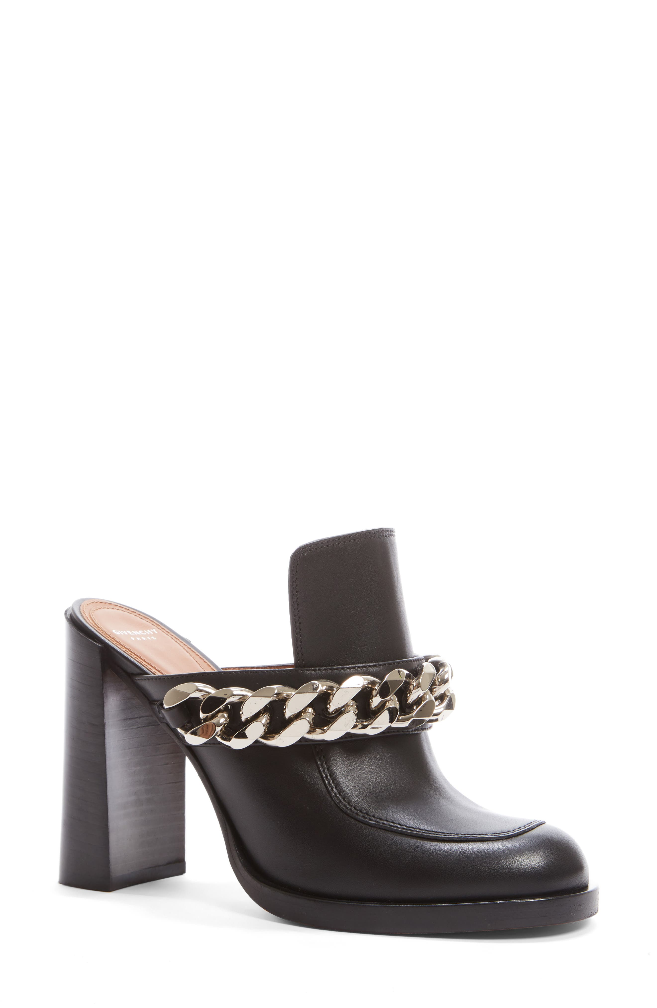 Alternate Image 1 Selected - Givenchy Chain Mule (Women)