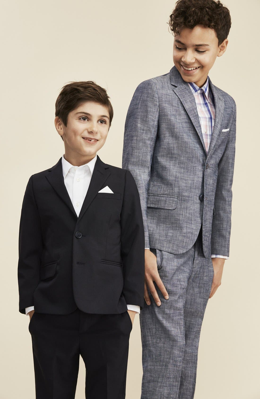 Alternate Image 9  - Nordstrom Smartcare™ Dress Shirt (Little Boys & Big Boys)