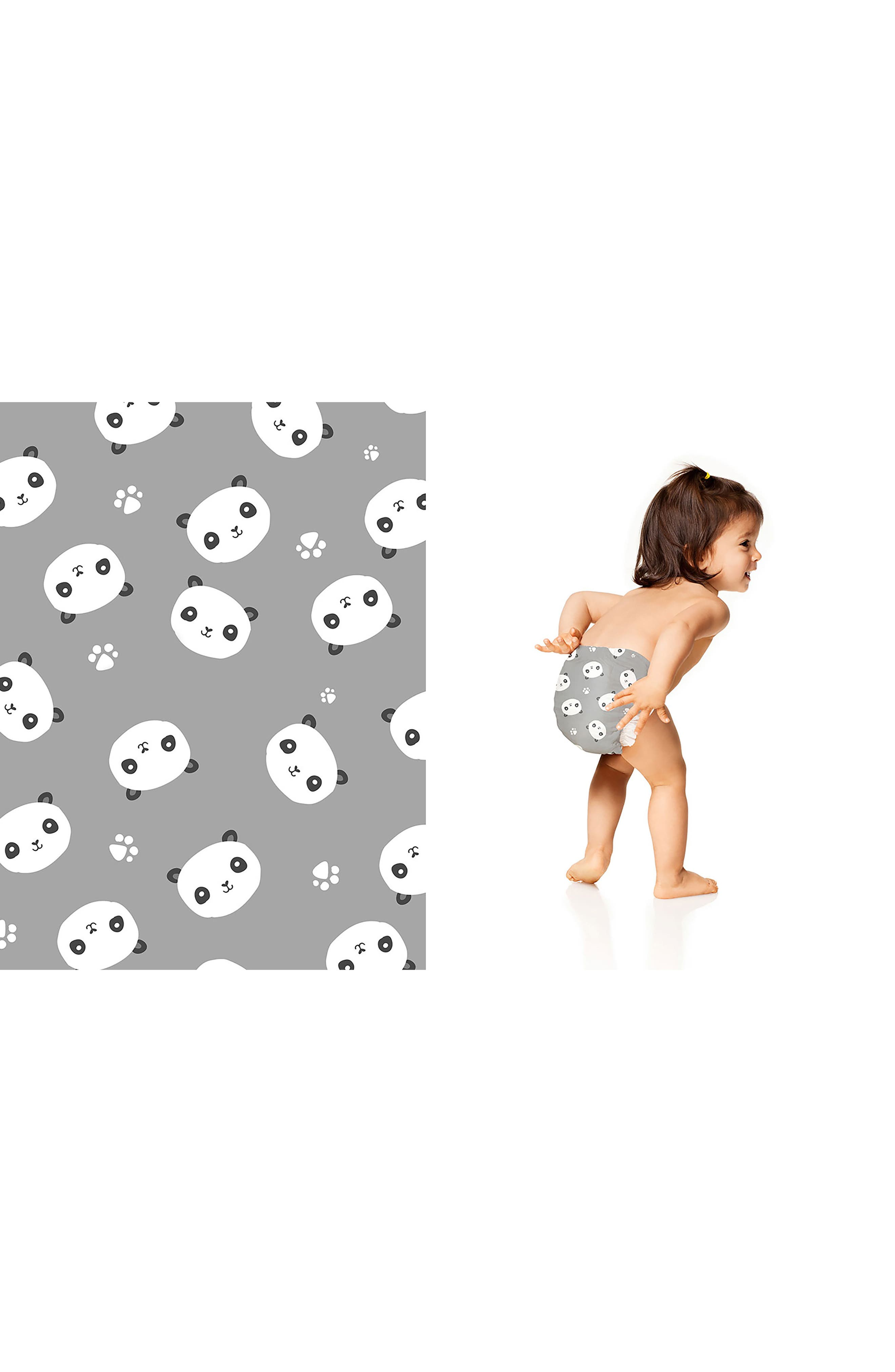 Patterned Diapers,                             Alternate thumbnail 2, color,                             Pandas