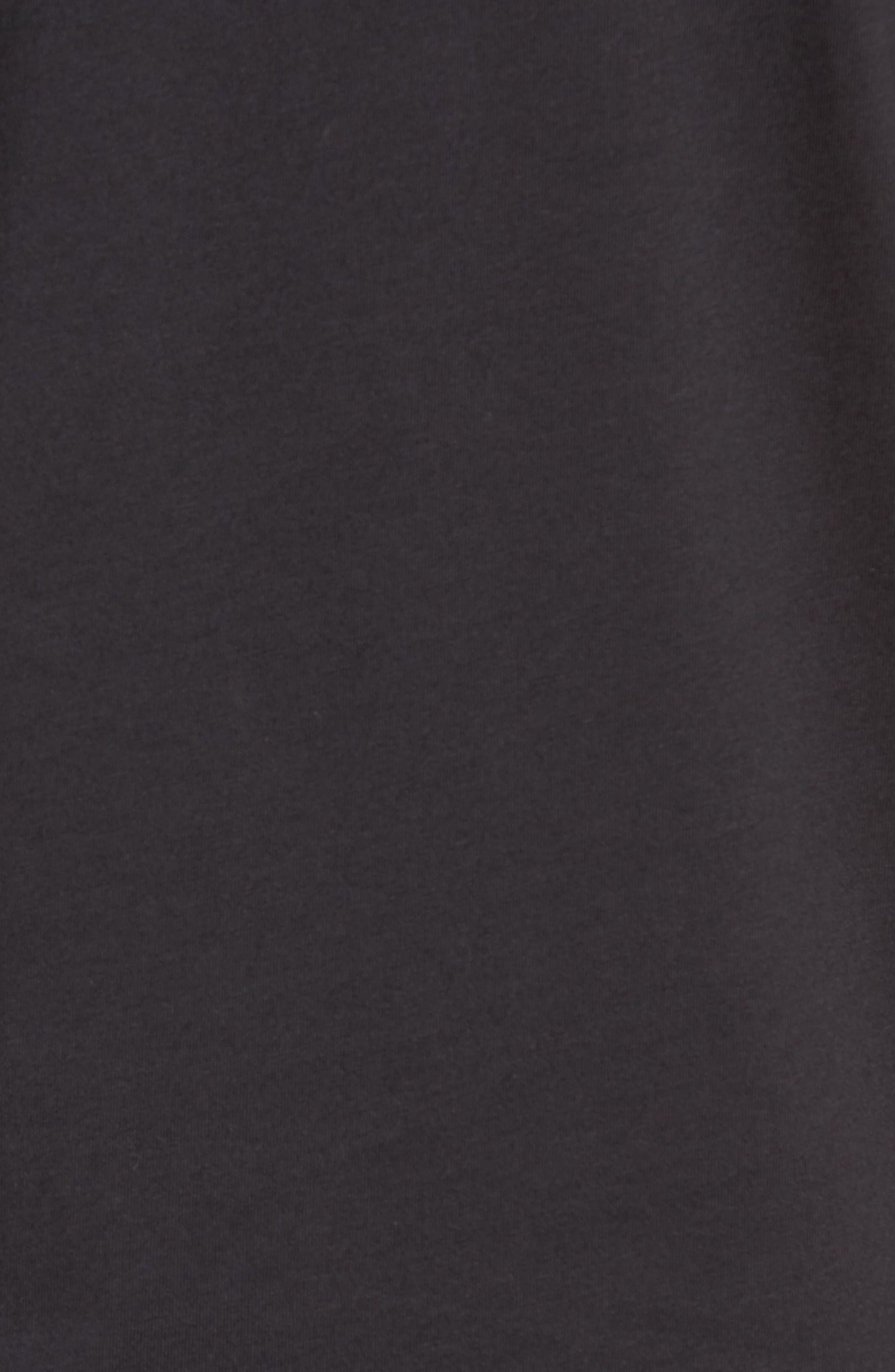 Mercer Jersey T-Shirt,                             Alternate thumbnail 5, color,                             Black