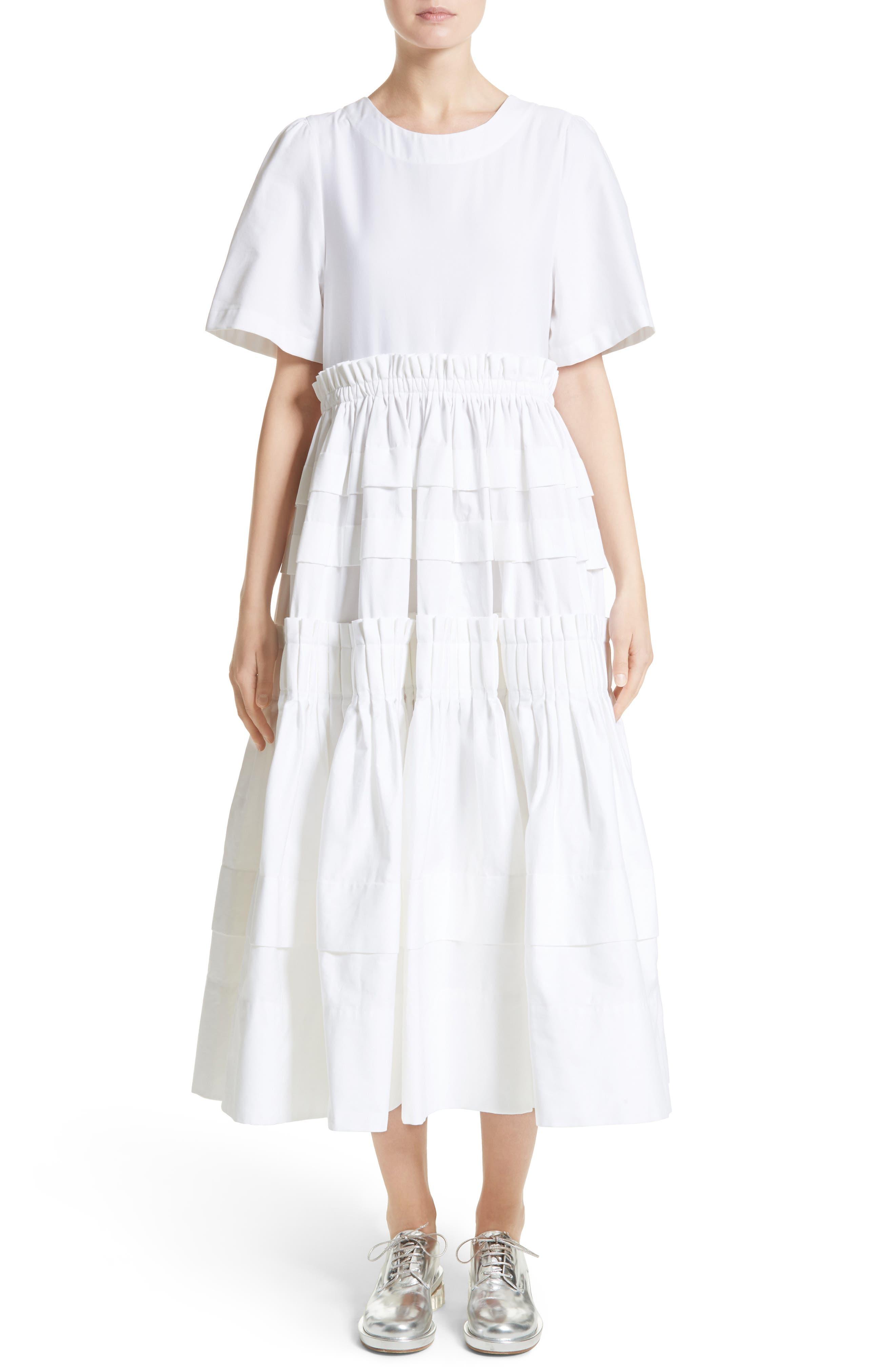 Mathilda Maxi Dress,                         Main,                         color, White