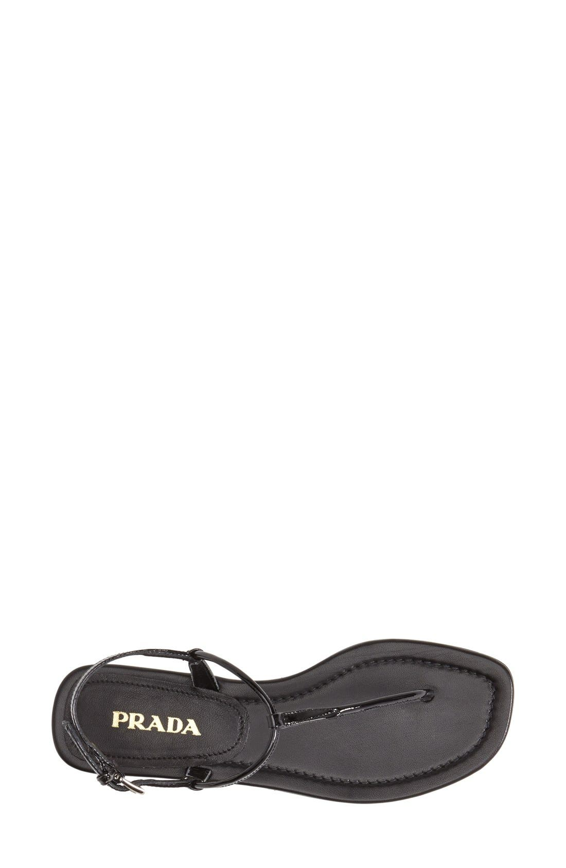 Alternate Image 3  - Prada T-Strap Thong Sandal