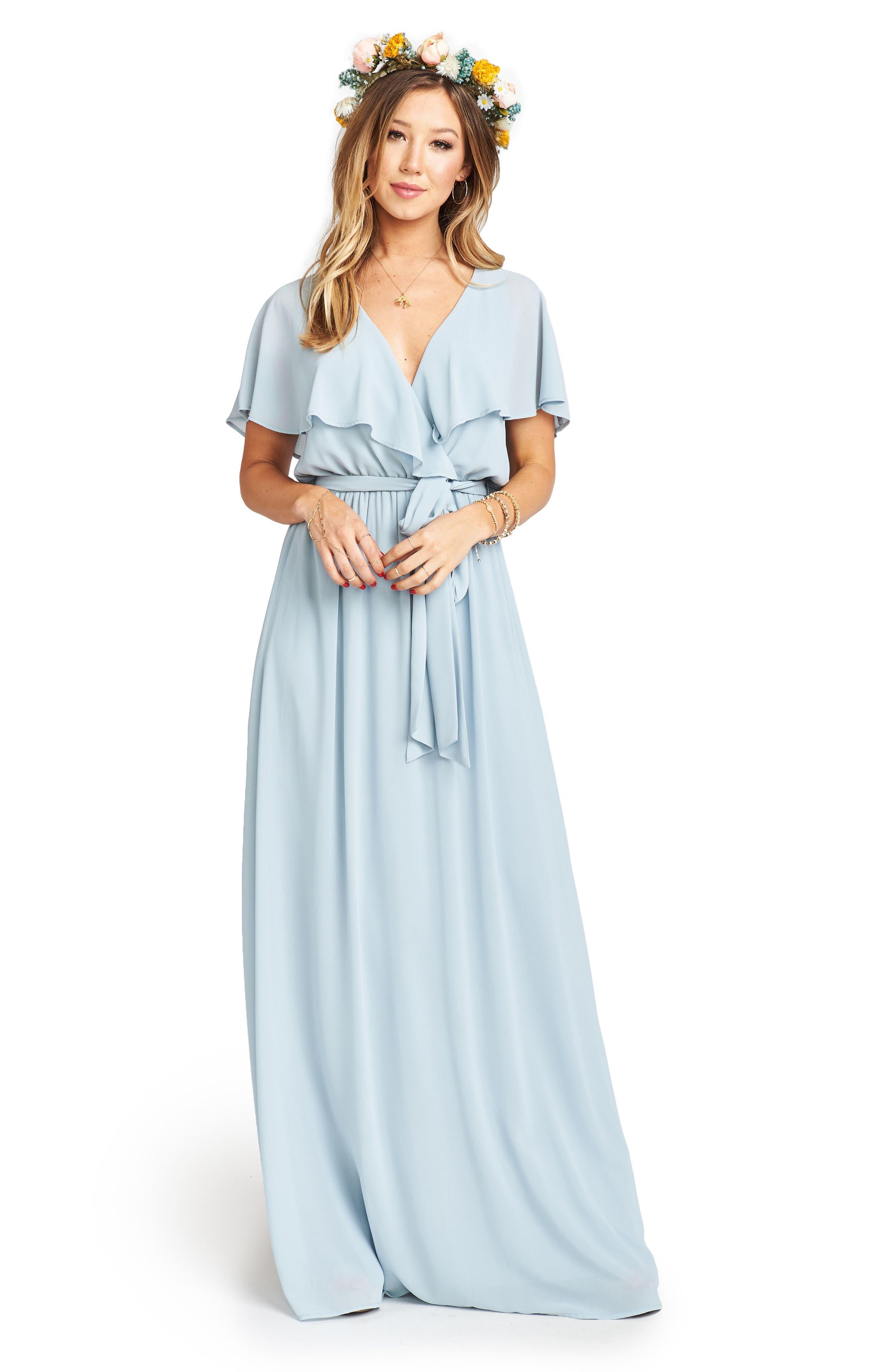 Alternate Image 2  - Show Me Your Mumu Audrey Ruffle Wrap Front Gown