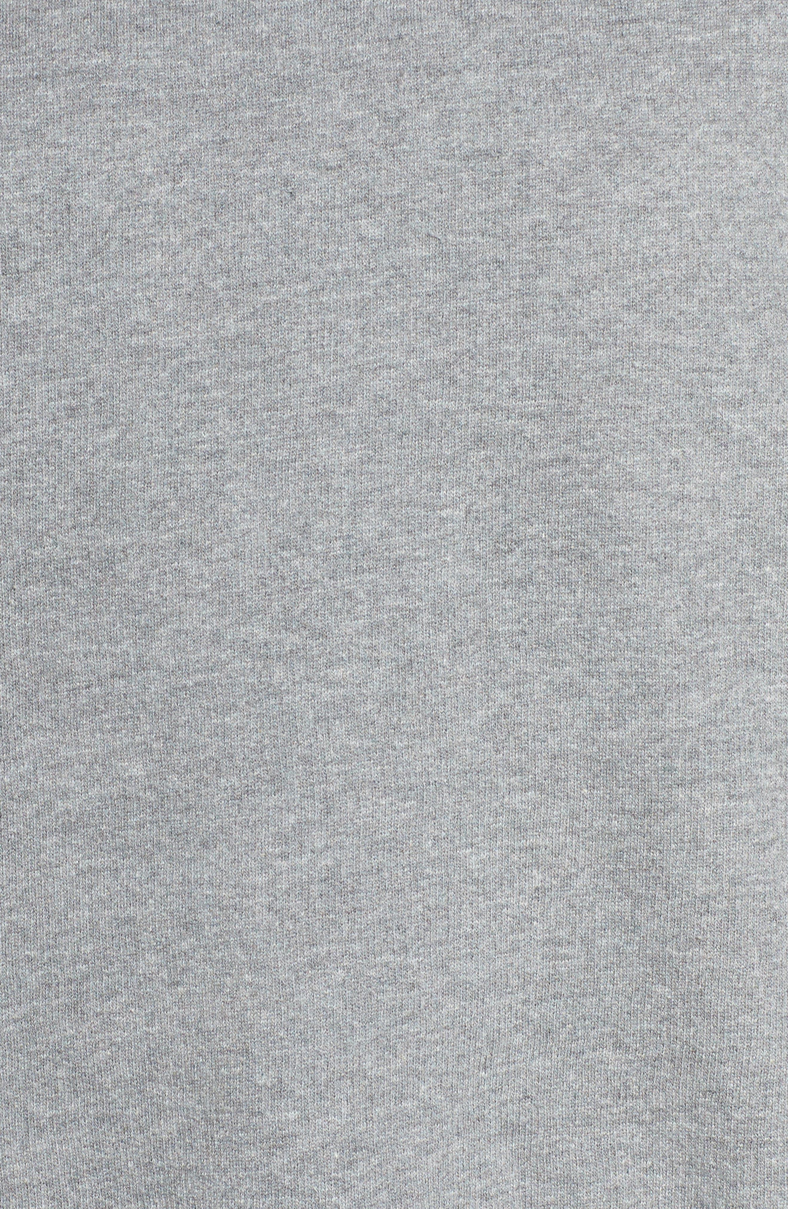 Blonde Crewneck Sweatshirt,                             Alternate thumbnail 5, color,                             Heather Grey