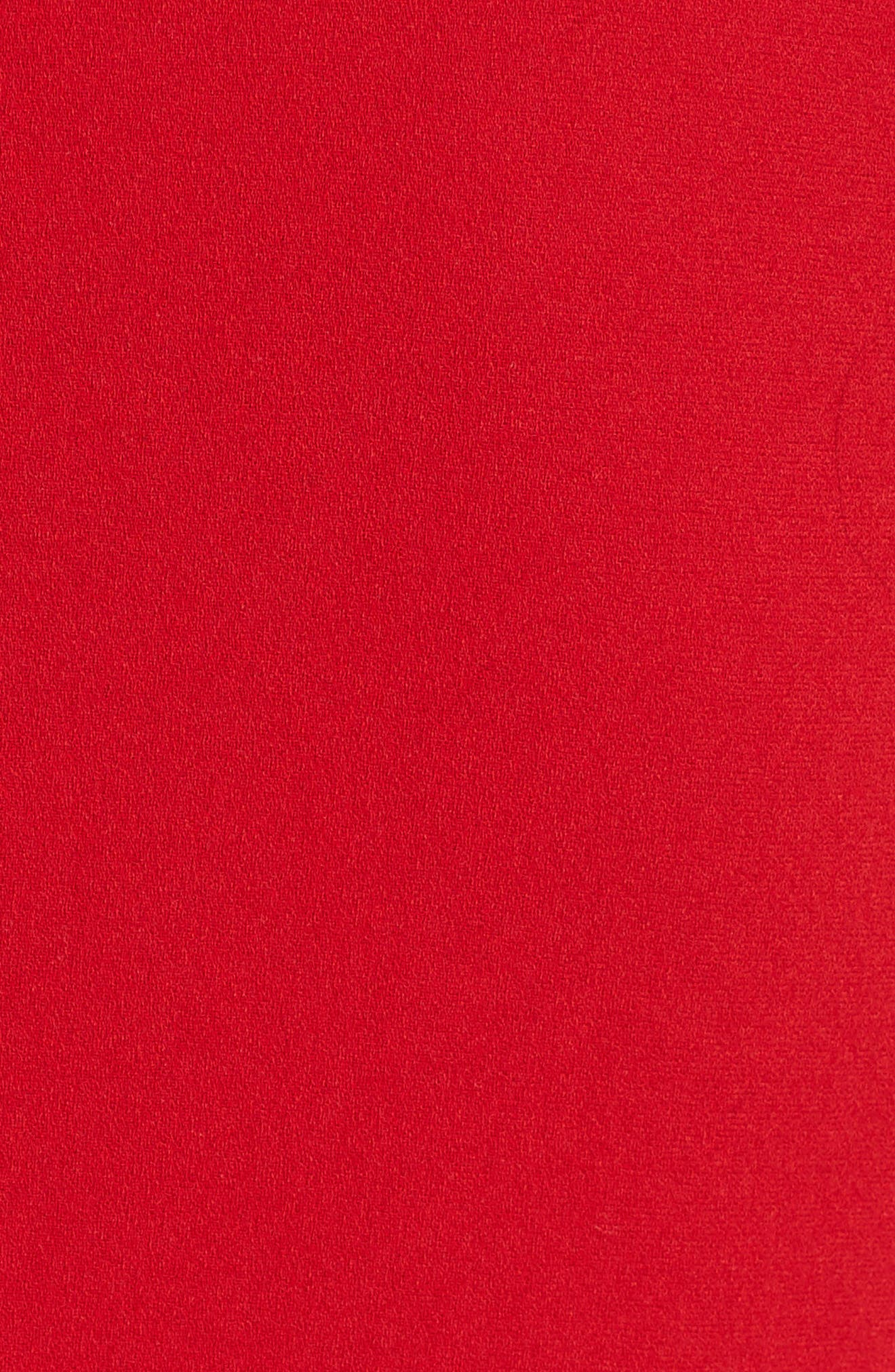 Alternate Image 3  - Victoria Beckham Crepe Minidress