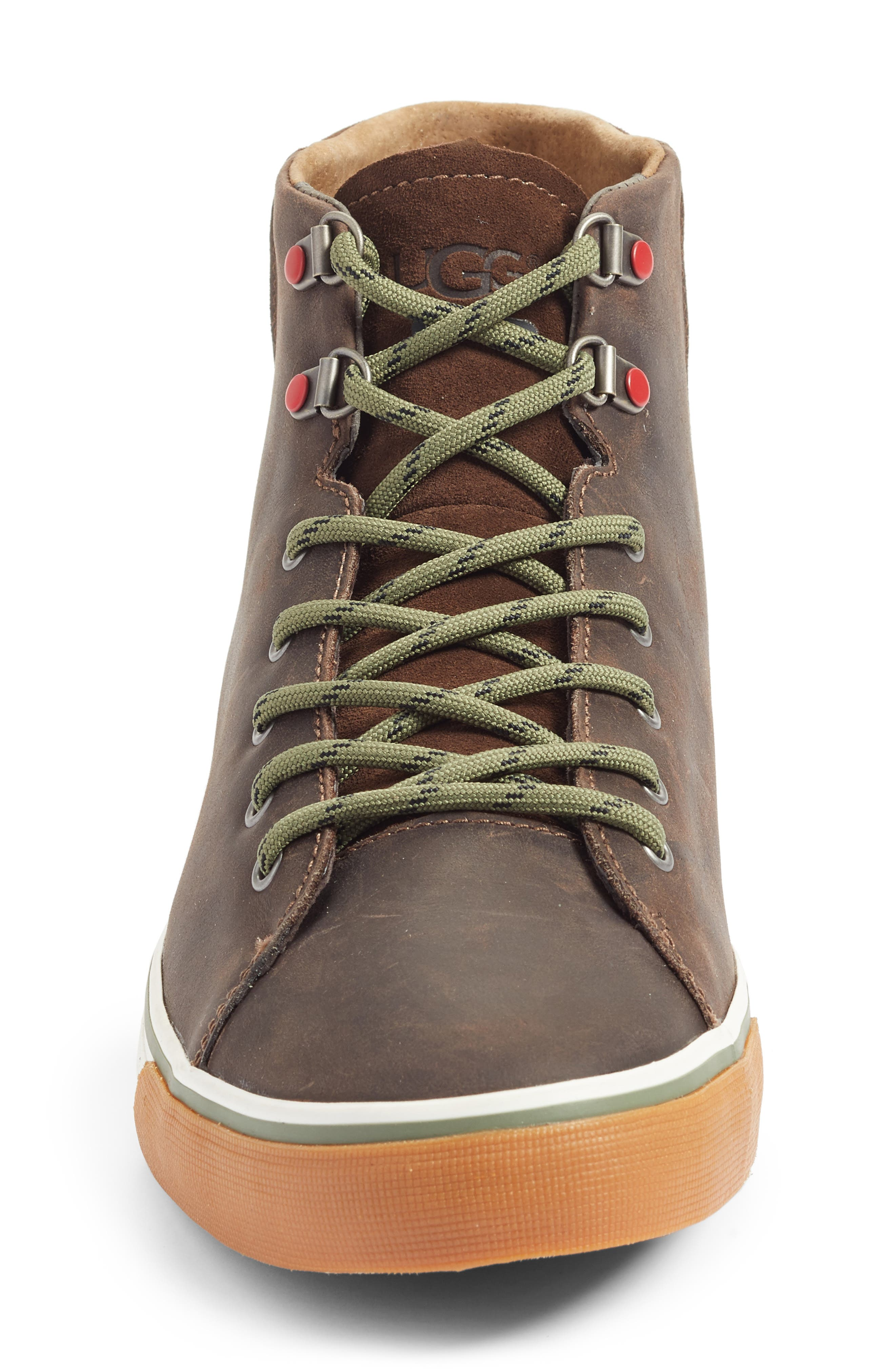 Hoyt High Top Sneaker,                             Alternate thumbnail 4, color,                             Grizzly