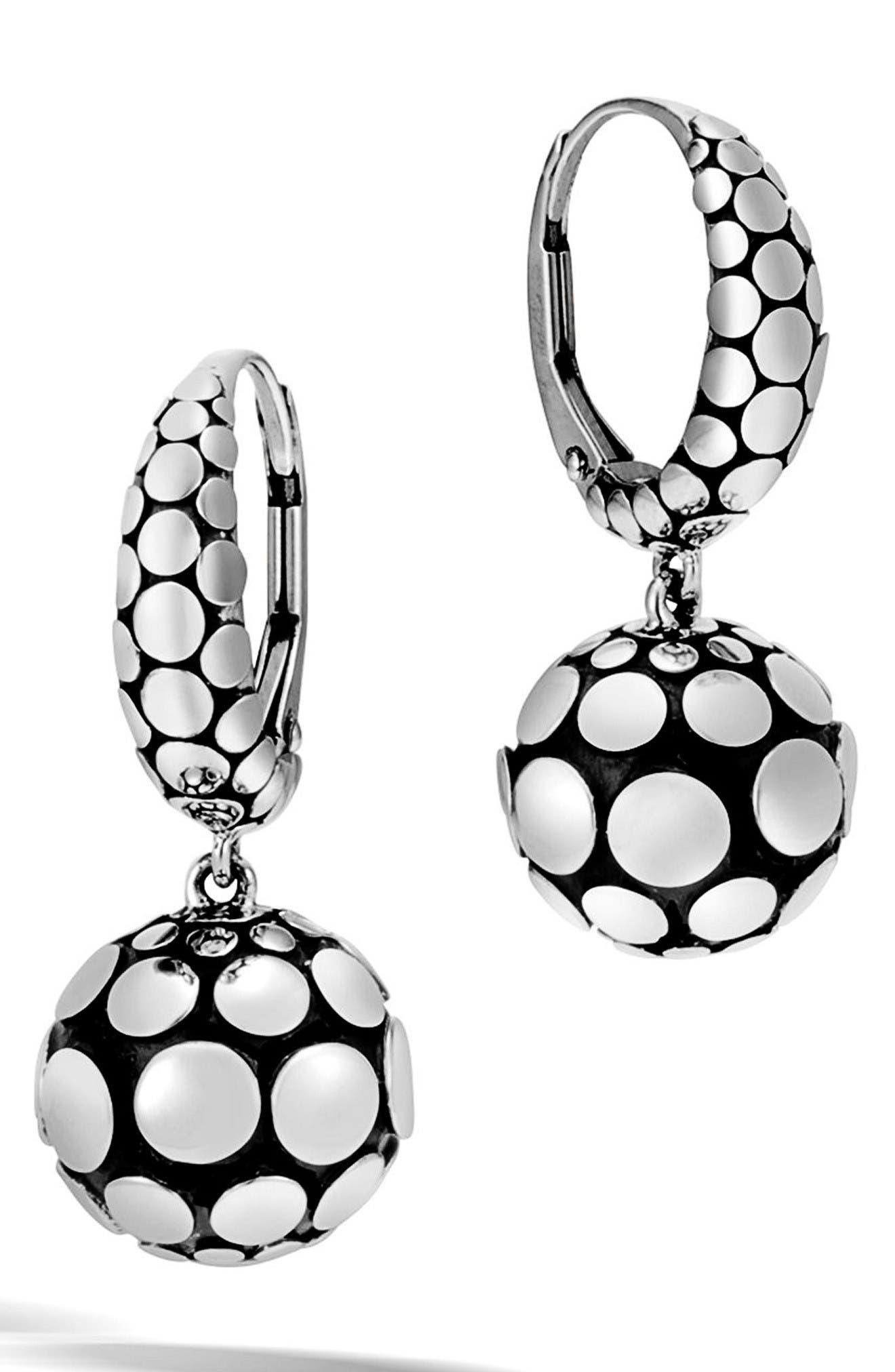 Main Image - John Hardy Dot Drop Earrings