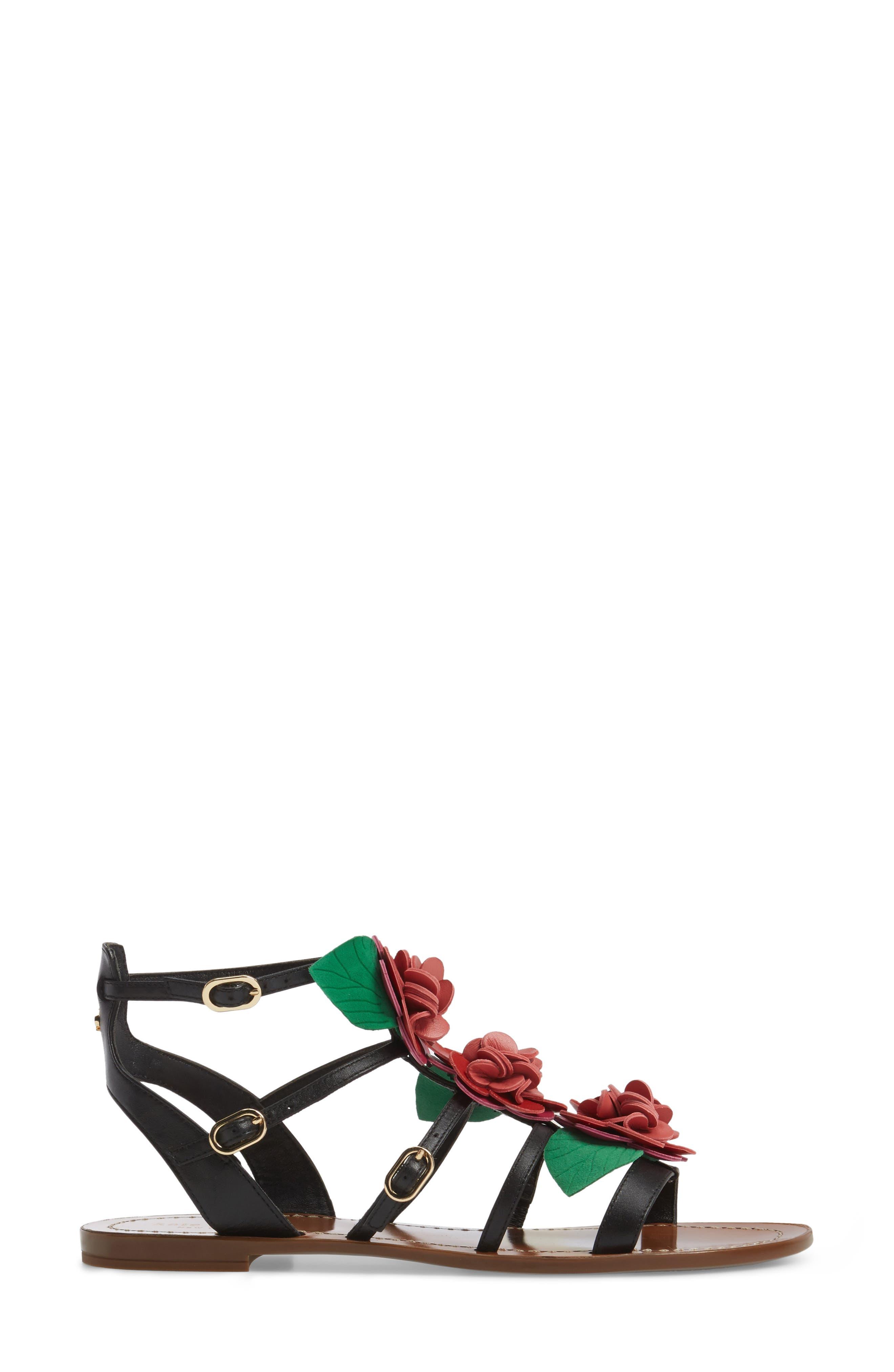 Alternate Image 3  - kate spade new york columbus flat sandal (Women)