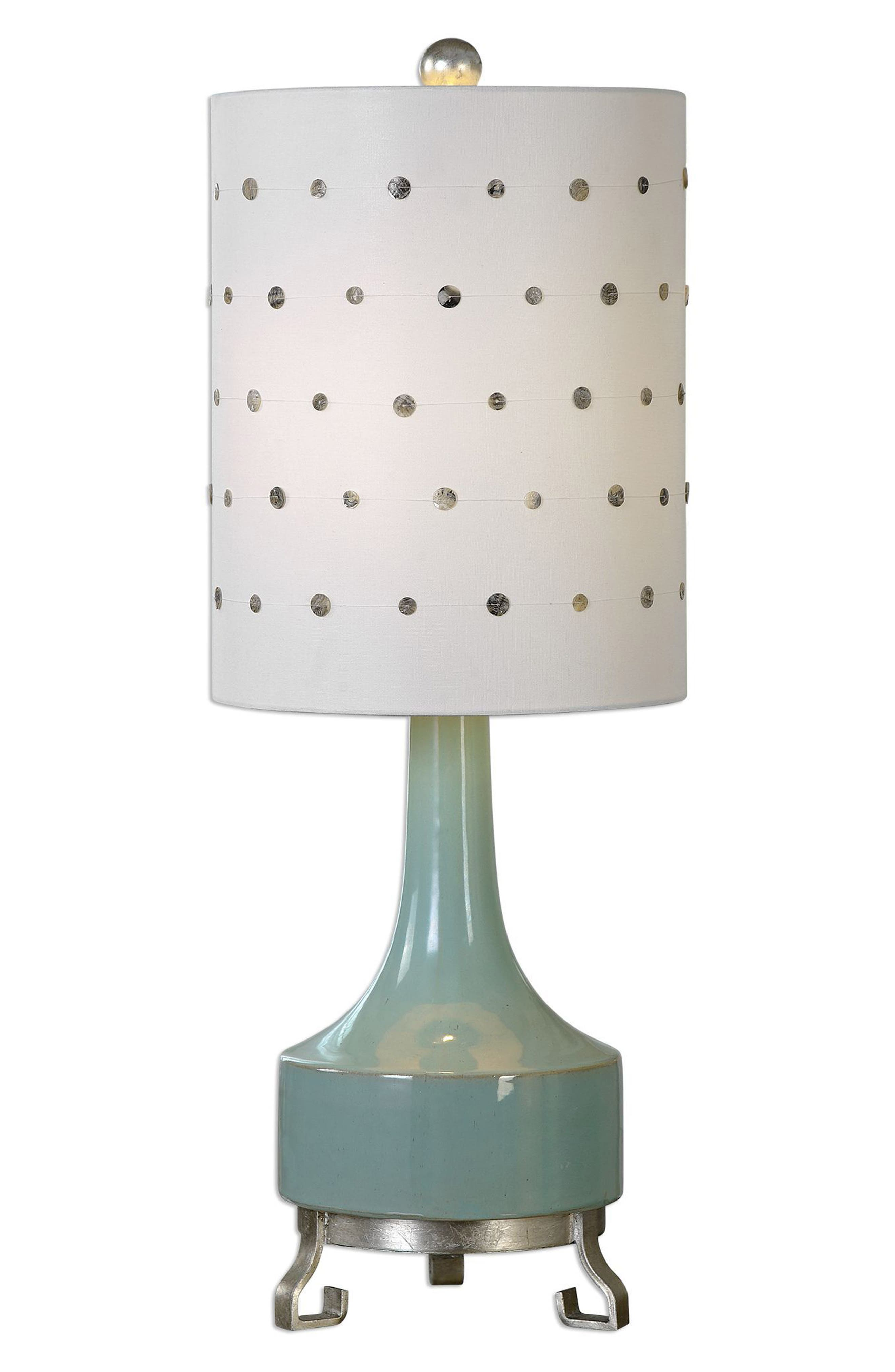 Cayucos Table Lamp,                             Main thumbnail 1, color,                             Blue