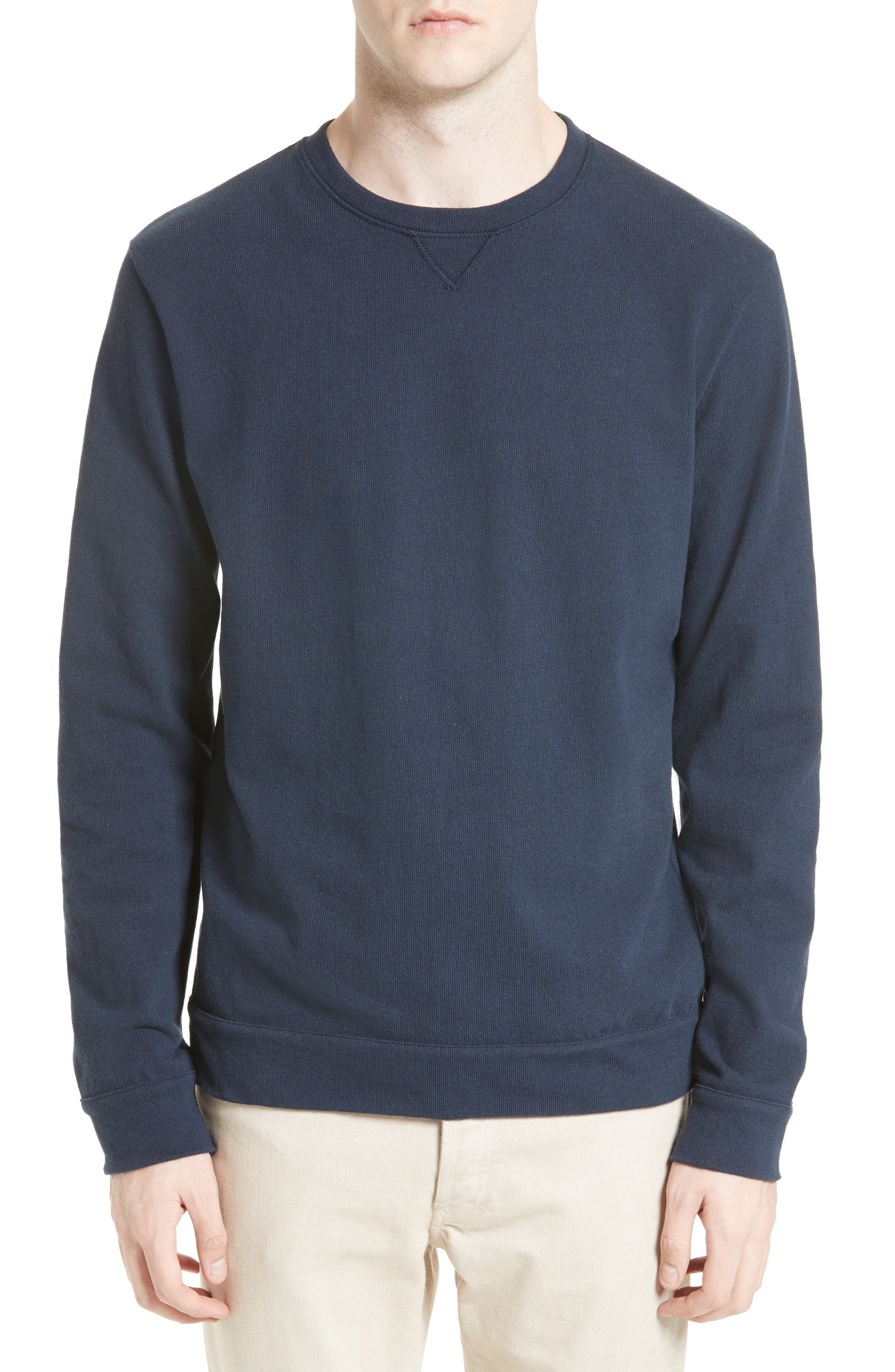 Hike Sweatshirt,                         Main,                         color, Blue