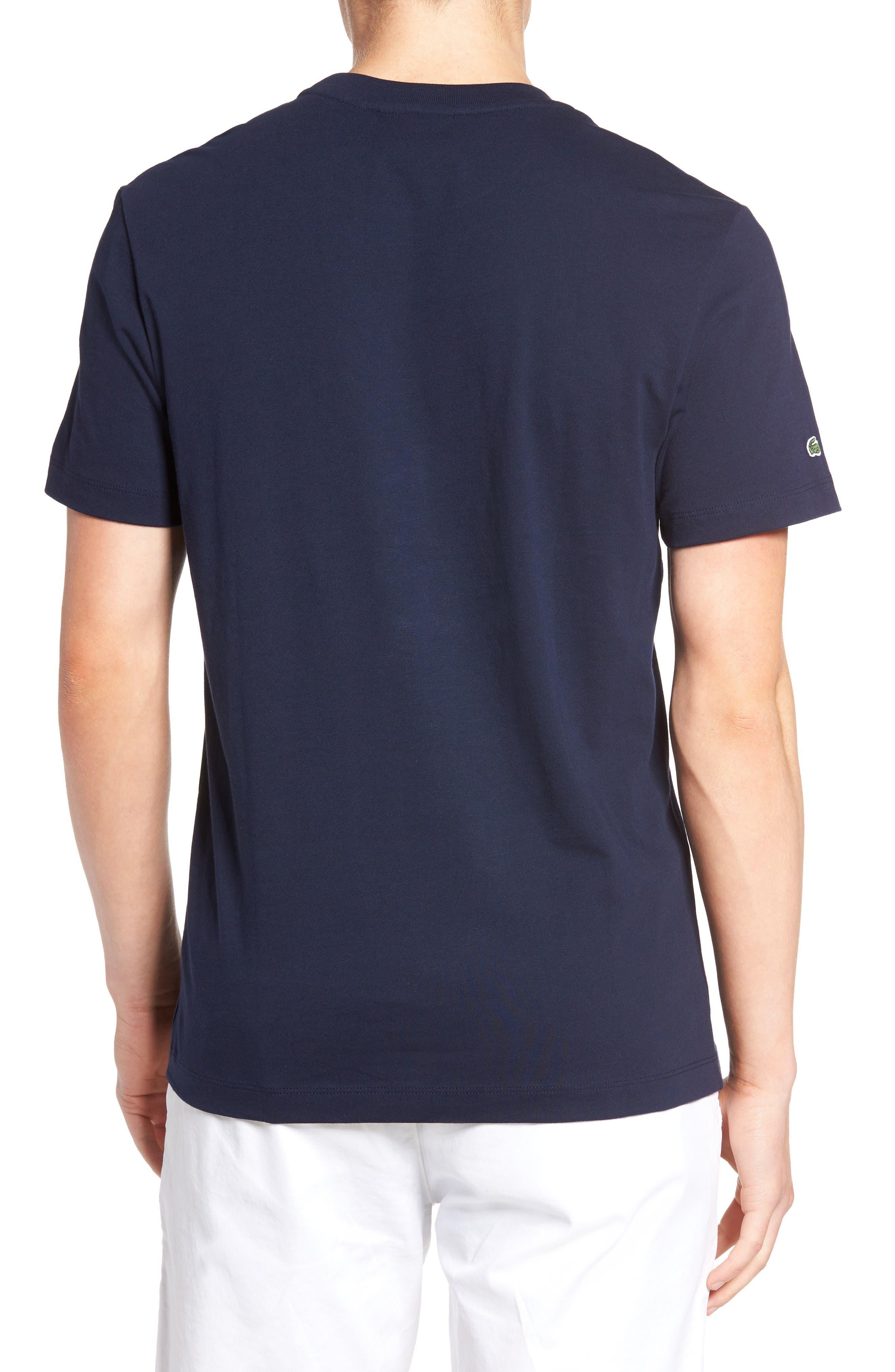 Alternate Image 2  - Lacoste 3D Logo Graphic T-Shirt