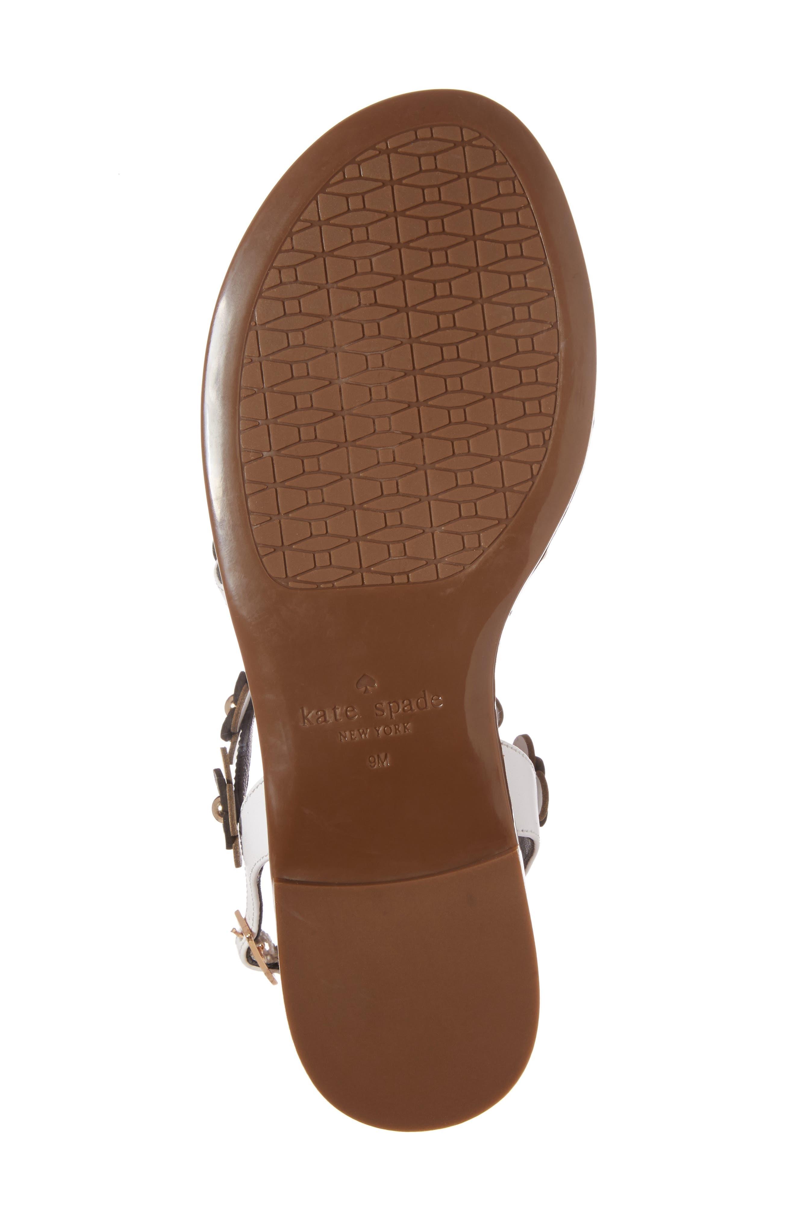 Alternate Image 6  - kate spade new york colorado flowered sandal (Women)