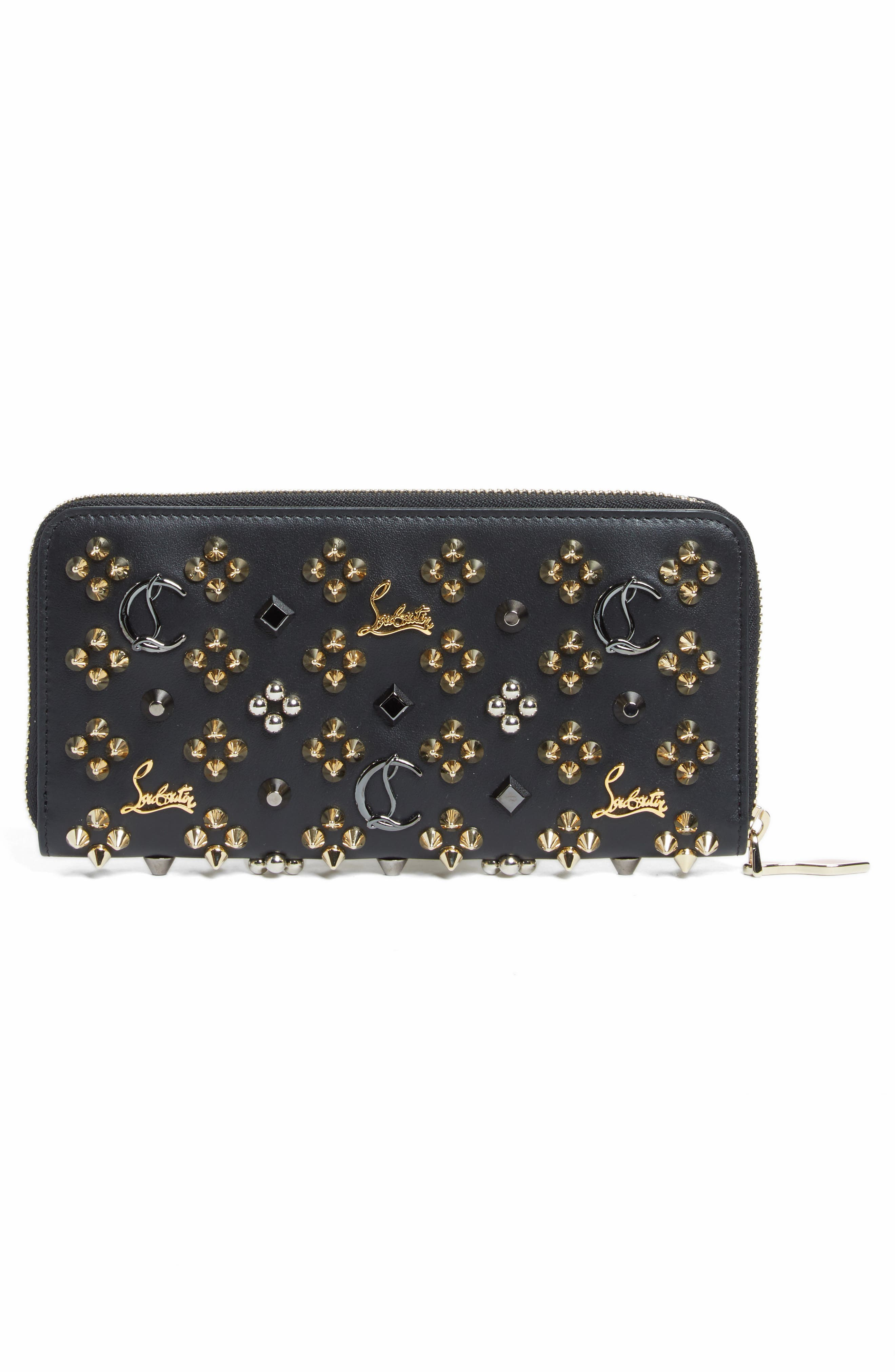 Alternate Image 3  - Christian Louboutin Panettone Spiked Calfskin Wallet