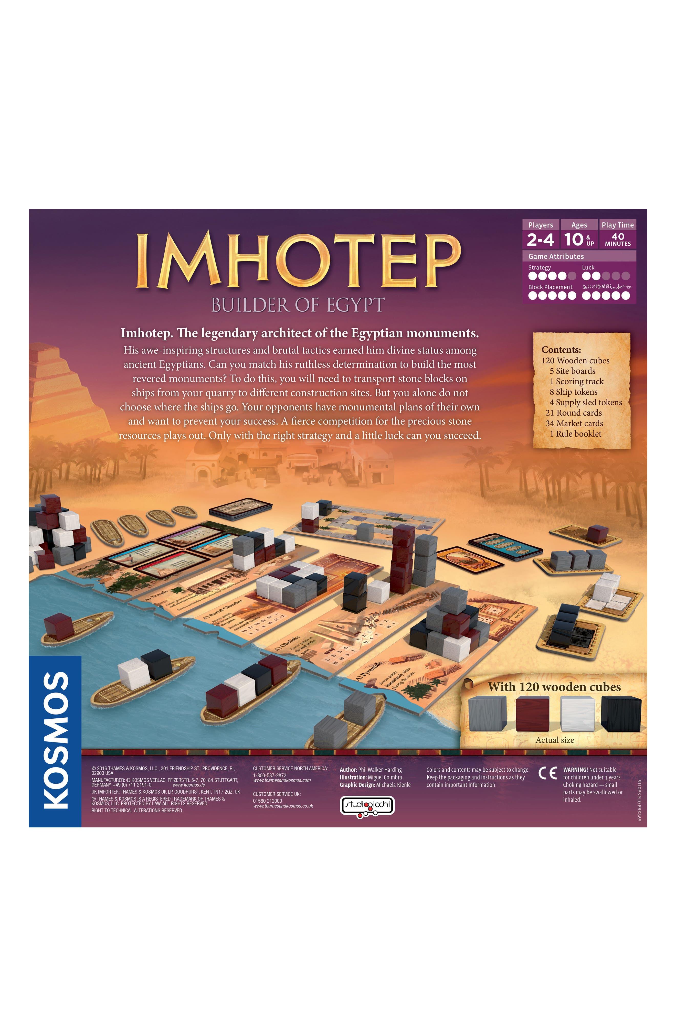 Alternate Image 3  - Thames & Kosmos Imhotep - Builder of Egypt Board Game