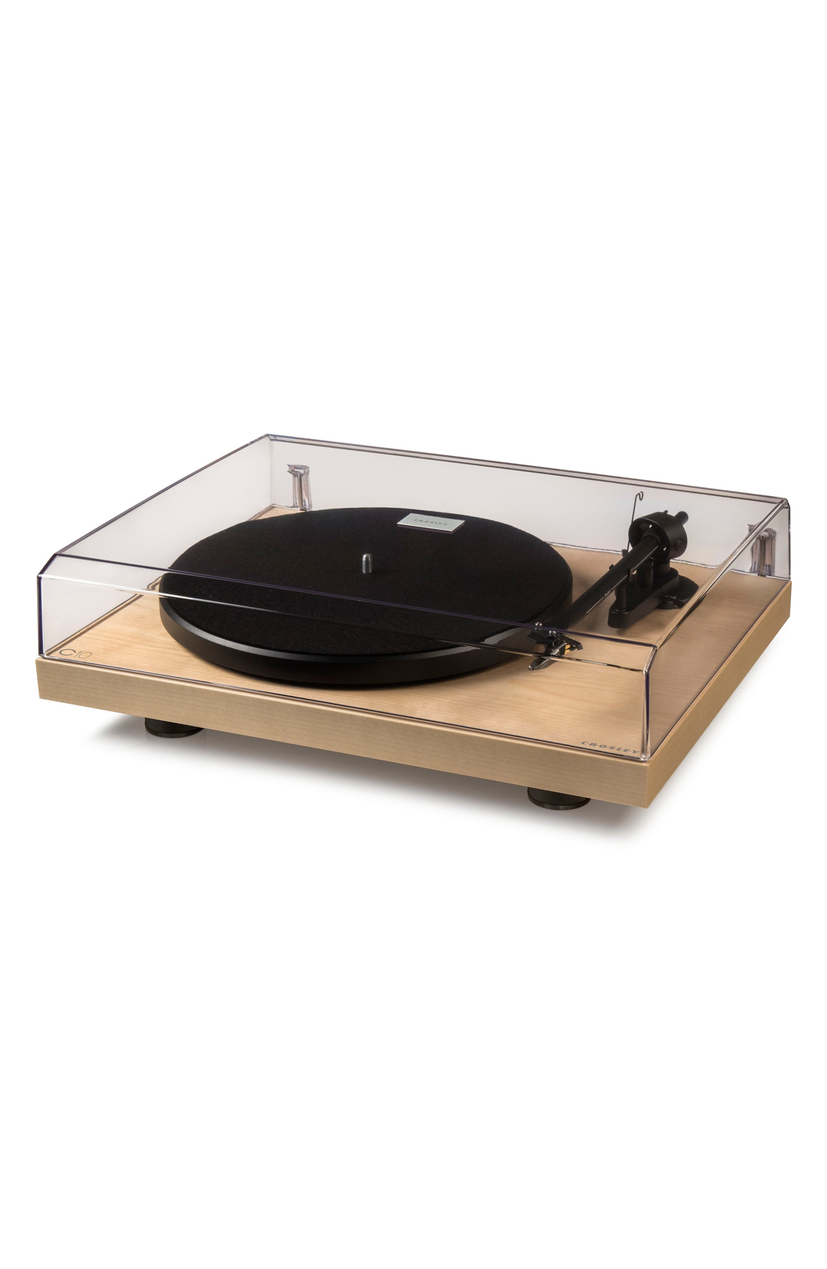 C10 Two-Speed Manual Turntable,                             Alternate thumbnail 2, color,                             Natural