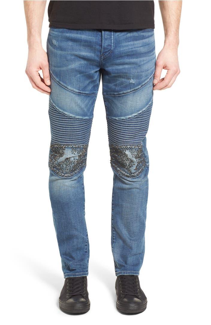 true religion brand jeans rocco skinny fit jeans endless. Black Bedroom Furniture Sets. Home Design Ideas