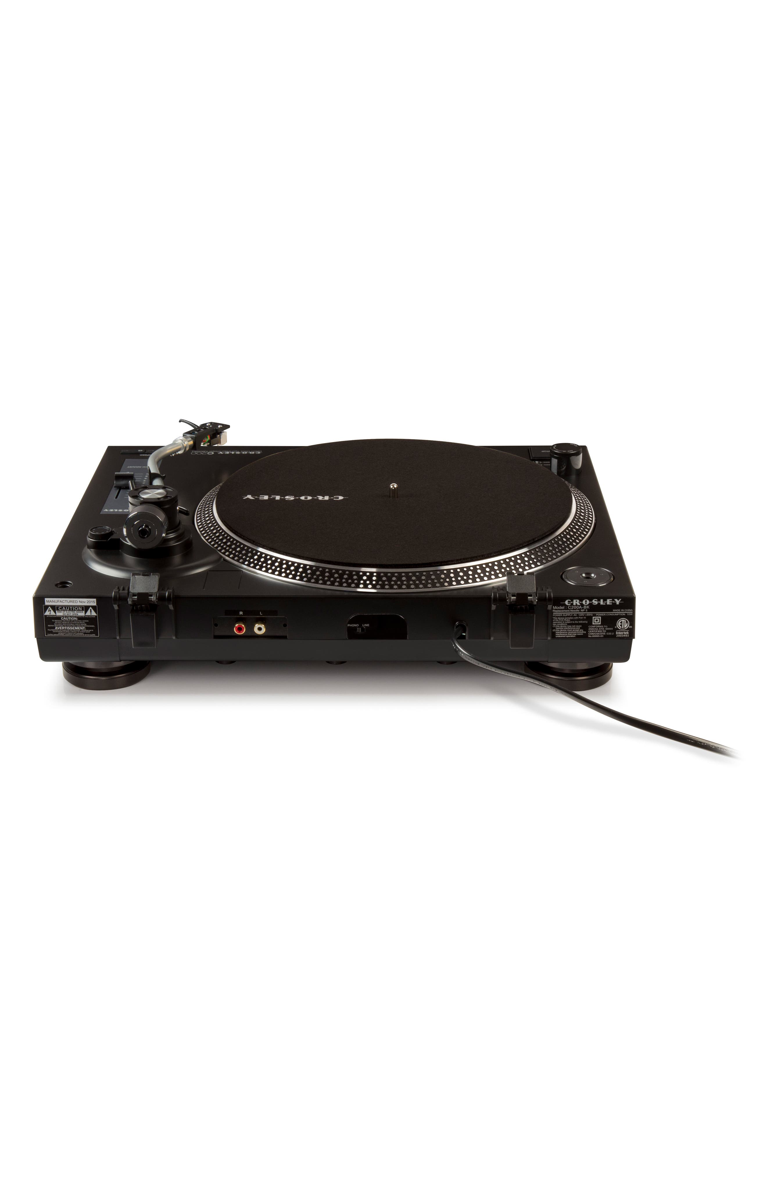 C200 Turntable,                             Alternate thumbnail 5, color,                             Black