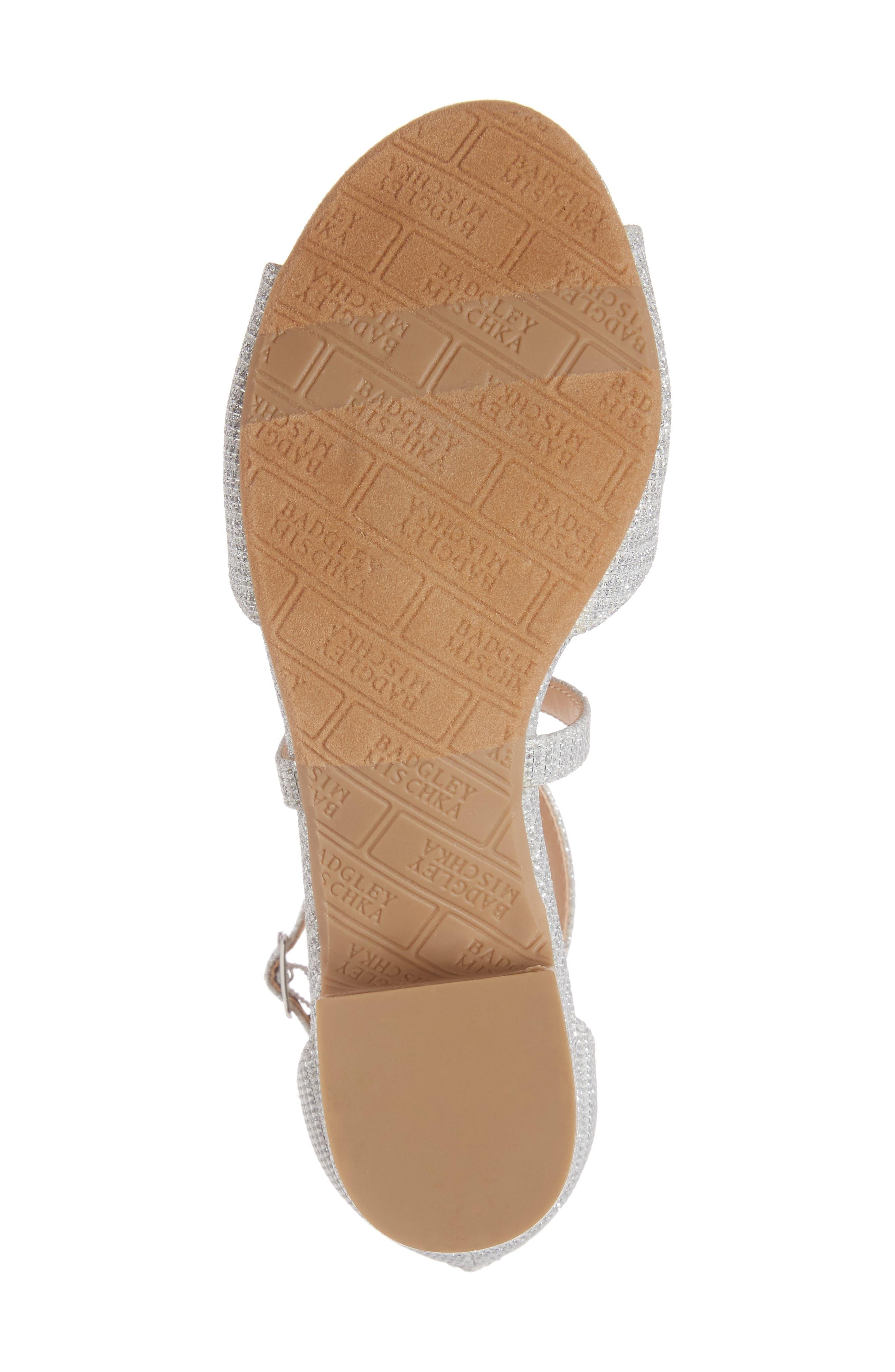 Alternate Image 6  - Badgley Mischka Pernia Gems Sandal (Toddler, Little Kid & Big Kid)