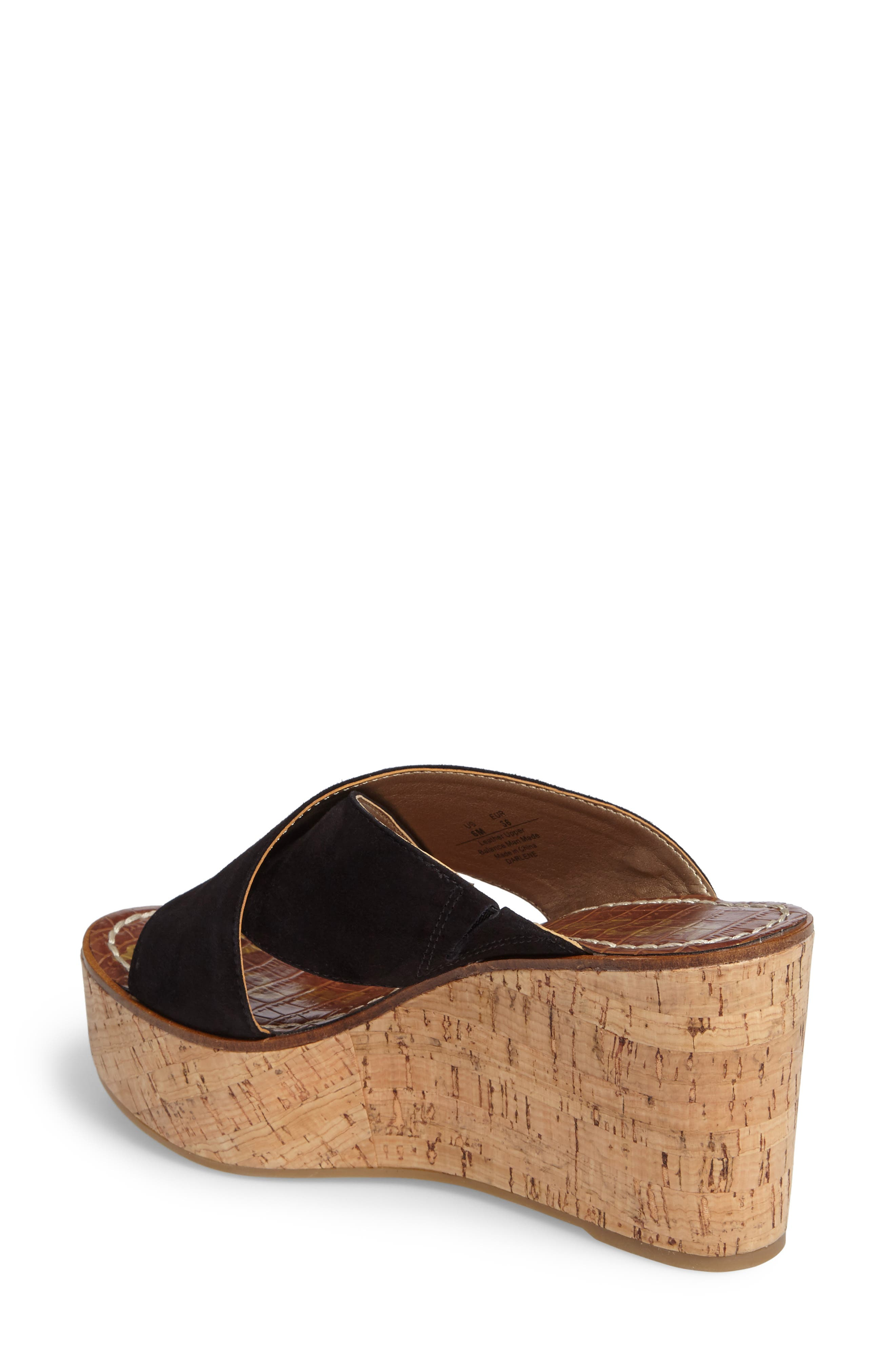 Alternate Image 2  - Sam Edelman Darlene Platform Wedge Sandal (Women)