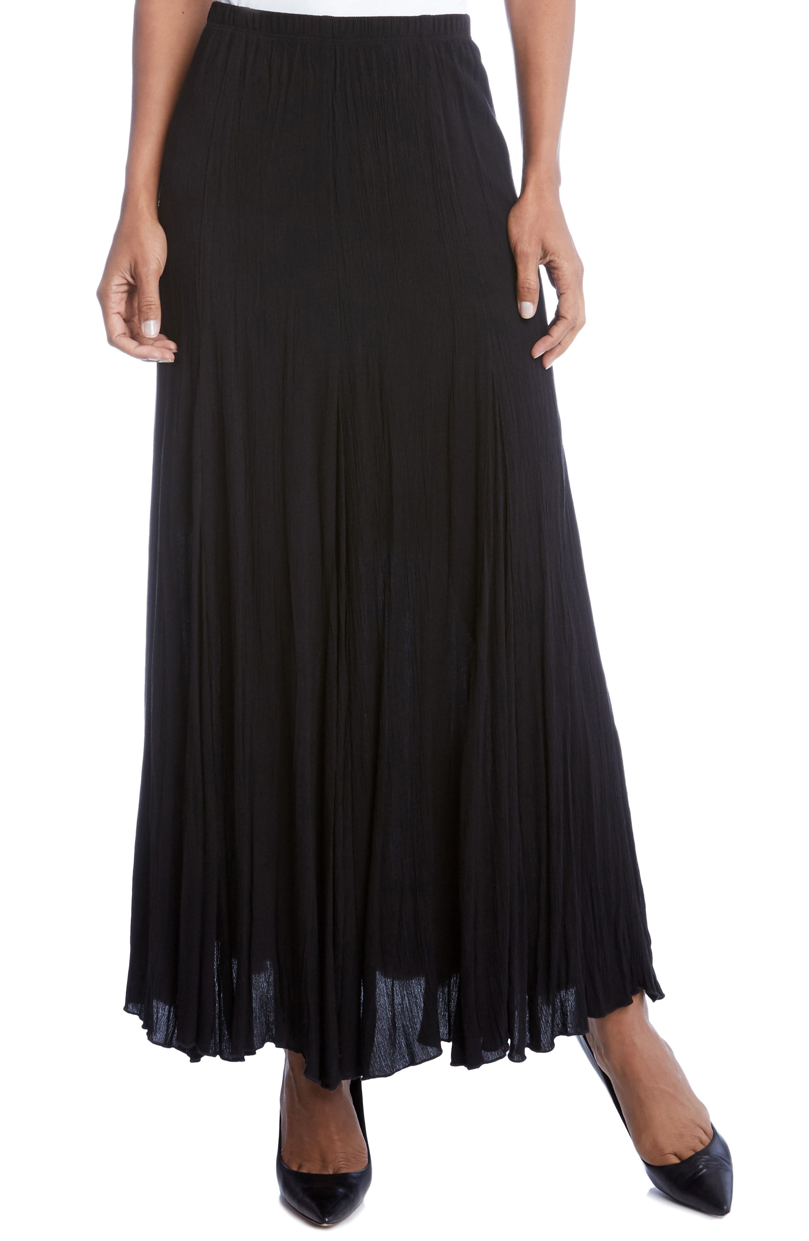 Alternate Image 1 Selected - Karen Kane Maxi Skirt